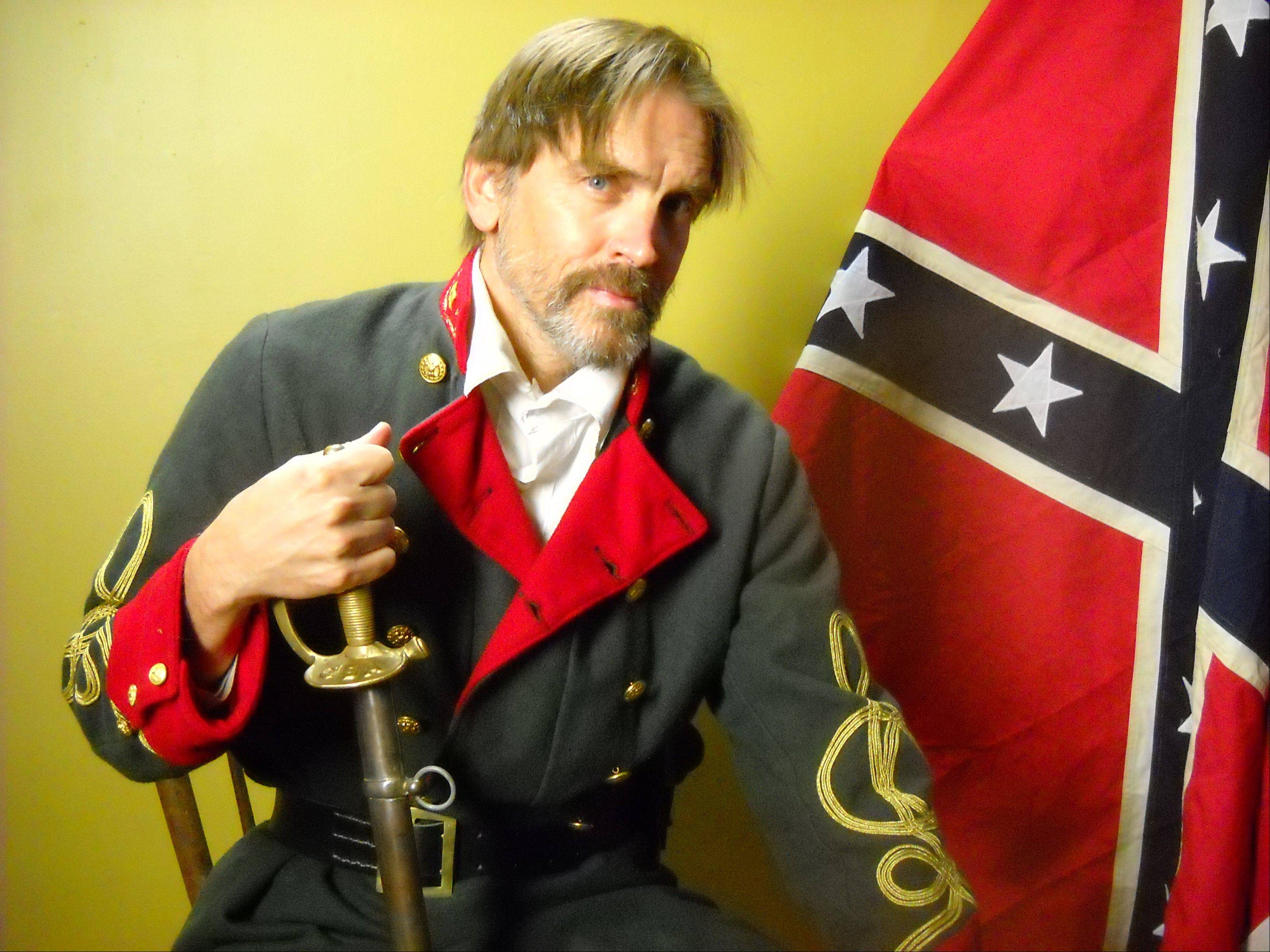 "Barrington Hills native Bill Moseley plays General Williams in the Civil War zombie epic ""Exit Humanity."""
