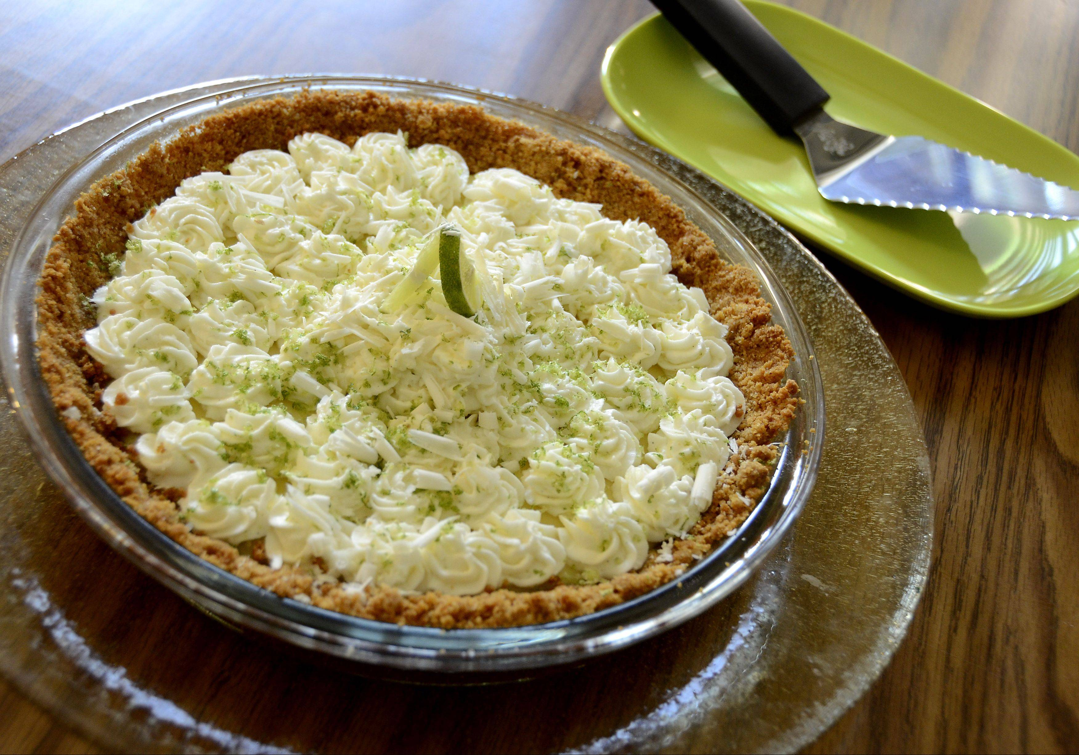 Buchholz doesn't have much of a sweet tooth, but that doesn't stop him from making Key Lime Pie for family and friends.