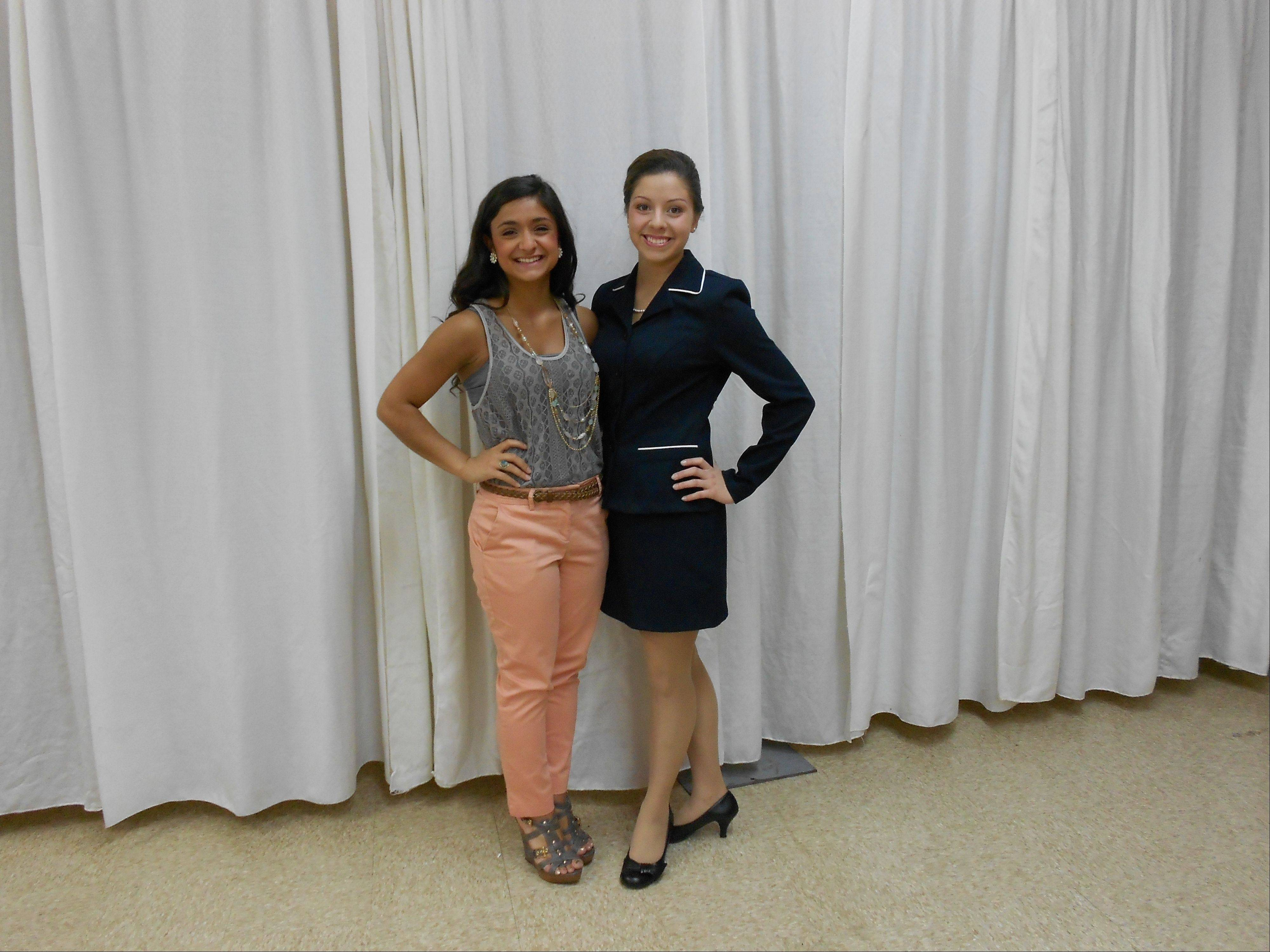 Guest speakers at the Girls State May orientation were Sabrina DiMaso and Tajari Lester. They spoke and answered questions on their experiences under the direction of the ALA 10th District Chairman Roselle Kwak.