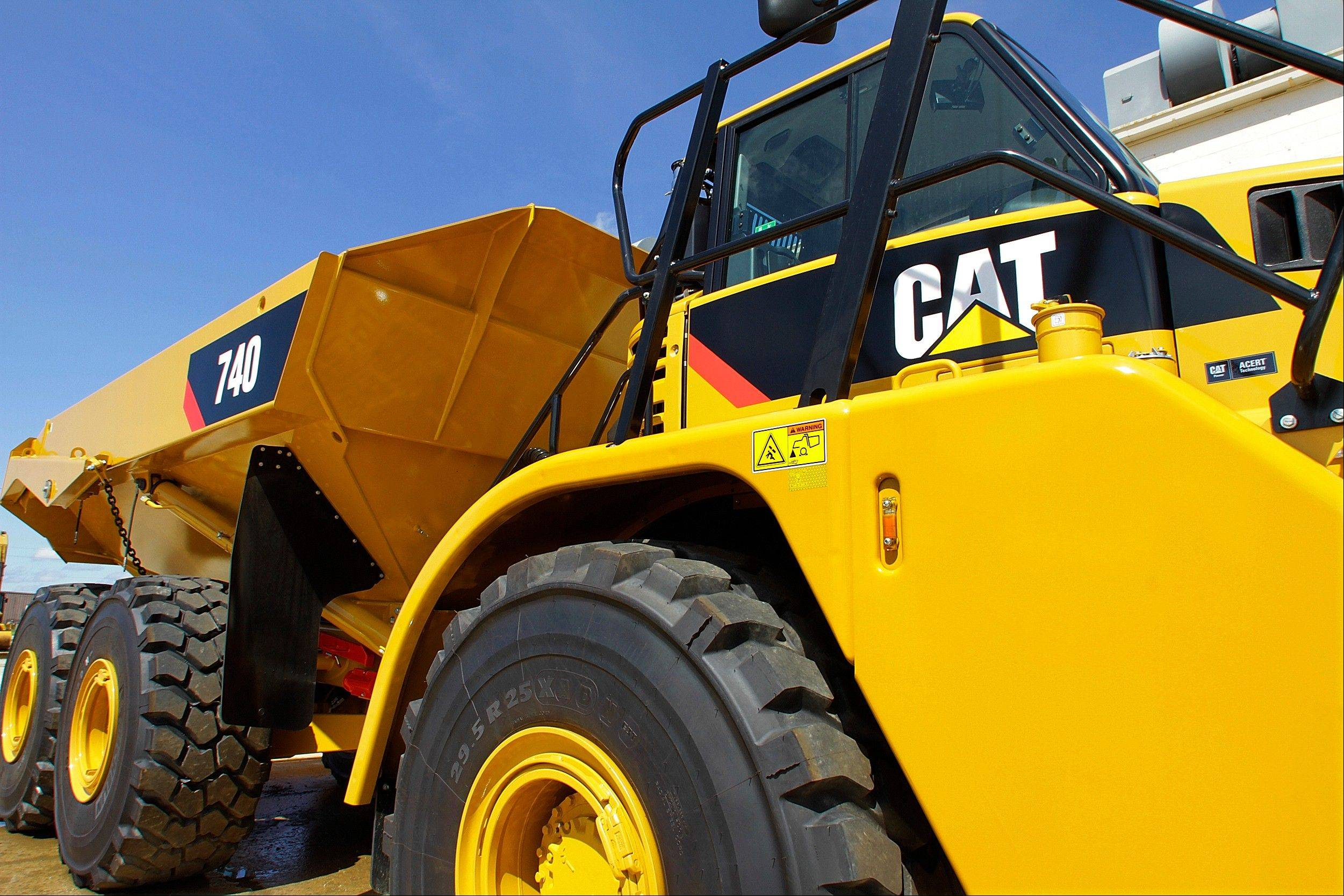 U.S investment firm MSCI Inc. says it has removed Peoria-based Caterpillar Inc. from three of its popular indexes that track socially responsible investments,