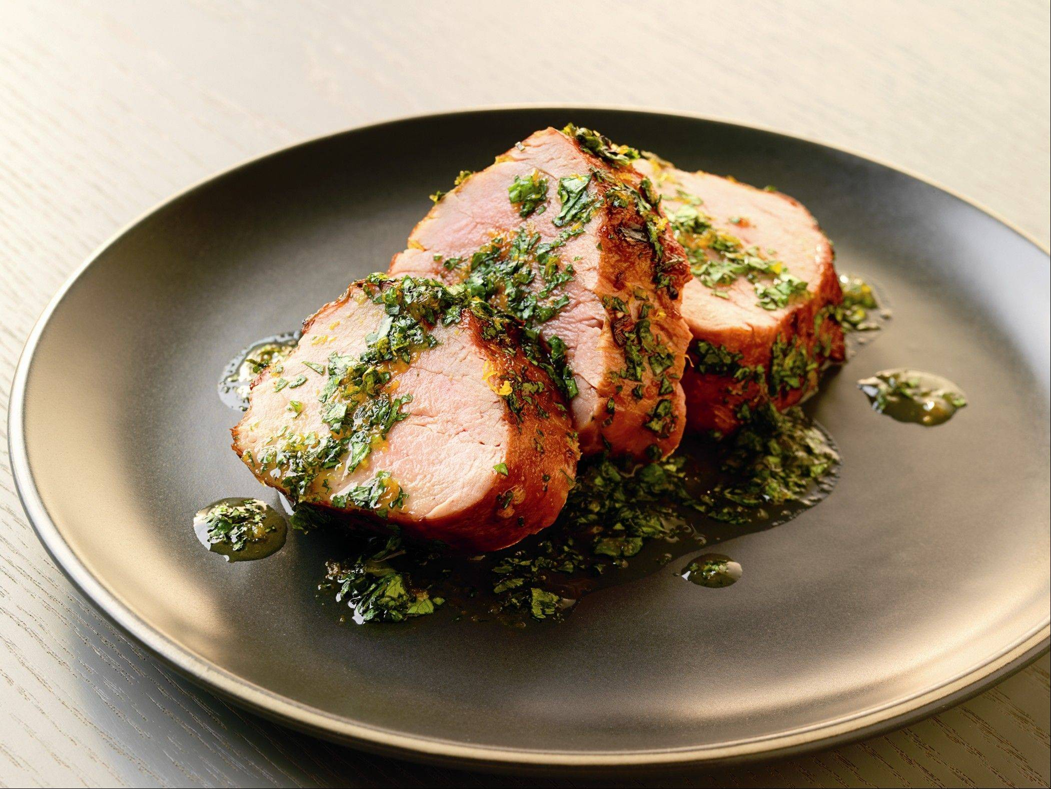 Smoking doesn't have to be an all-day endeavor. This pork tenderloin picks up hickory notes in less than 20 minutes.
