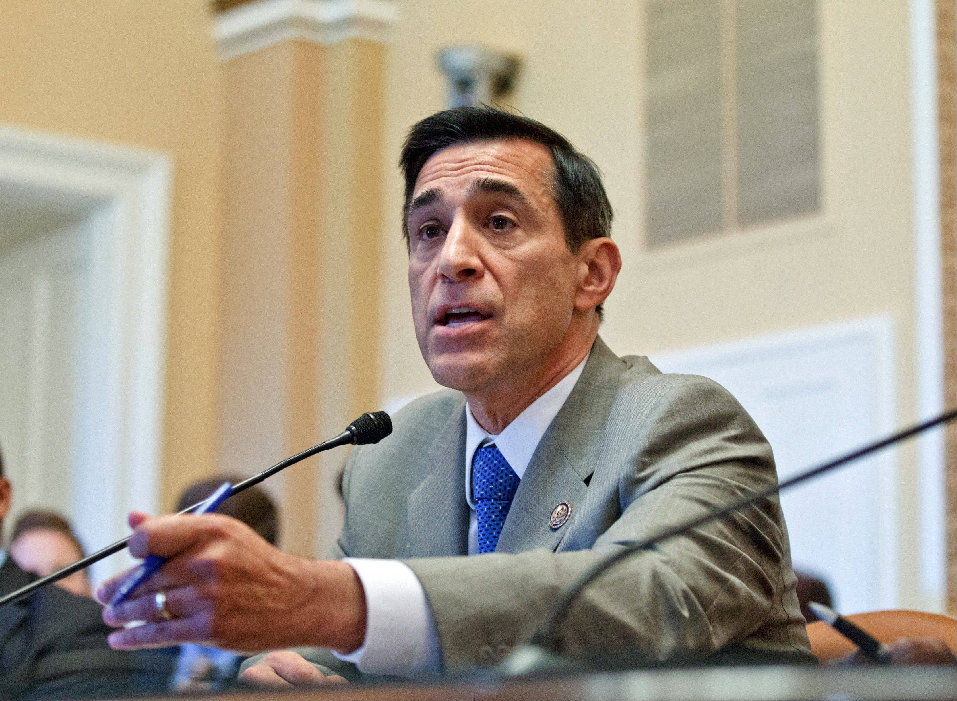 House Oversight and Government Reform Committee Chairman Rep. Darrell Issa, above, has been a leader in Republican efforts to have a House vote on whether Attorney General Eric Holder is in contempt of Congress because he has refused to give the Oversight Committee all the documents it wants related to Operation Fast and Furious.