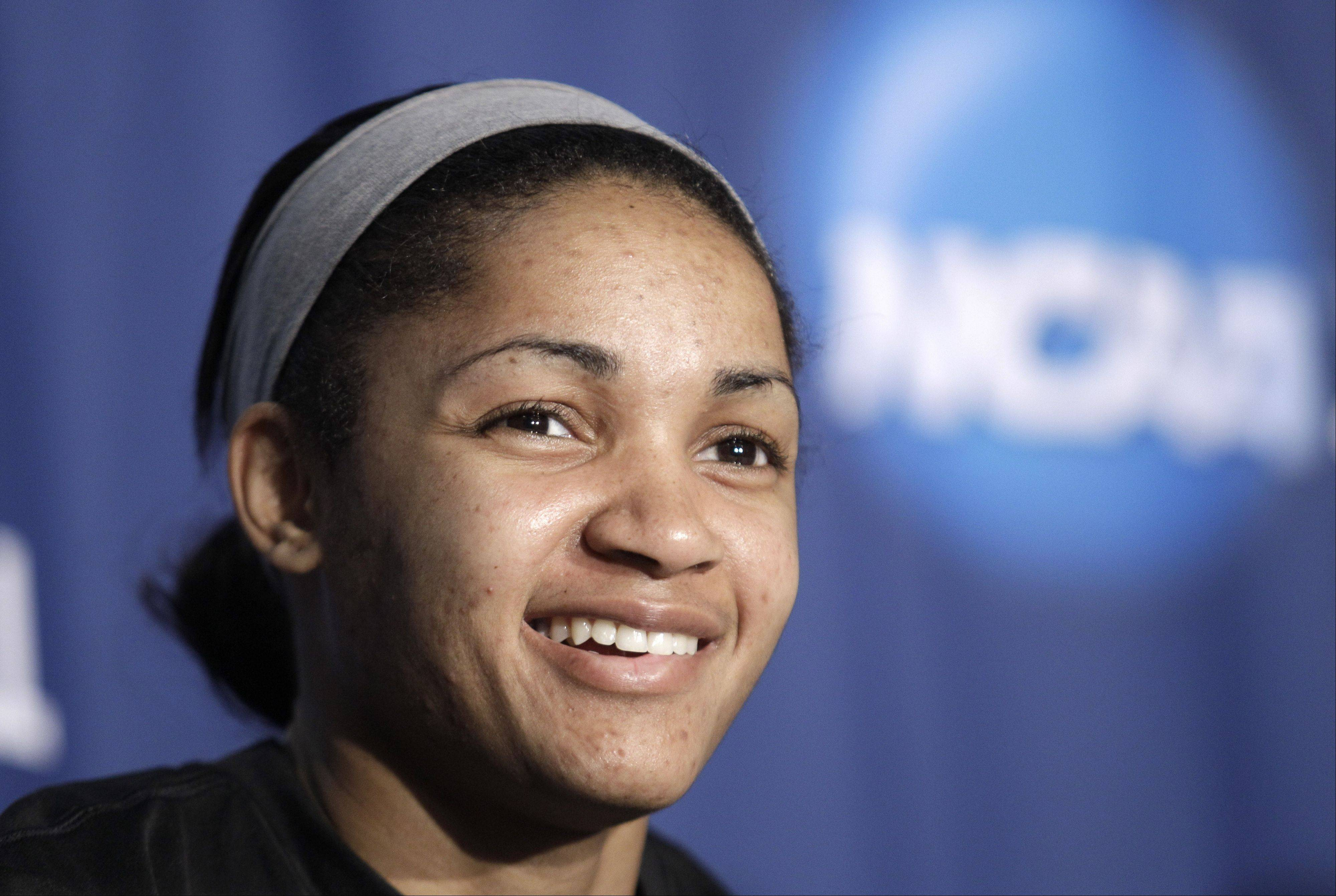 Former Texas A&M guard Sydney Carter was released by the Chicago Sky. Carter, the Sky's 2012 draft pick, played in just one WNBA game for the Sky.
