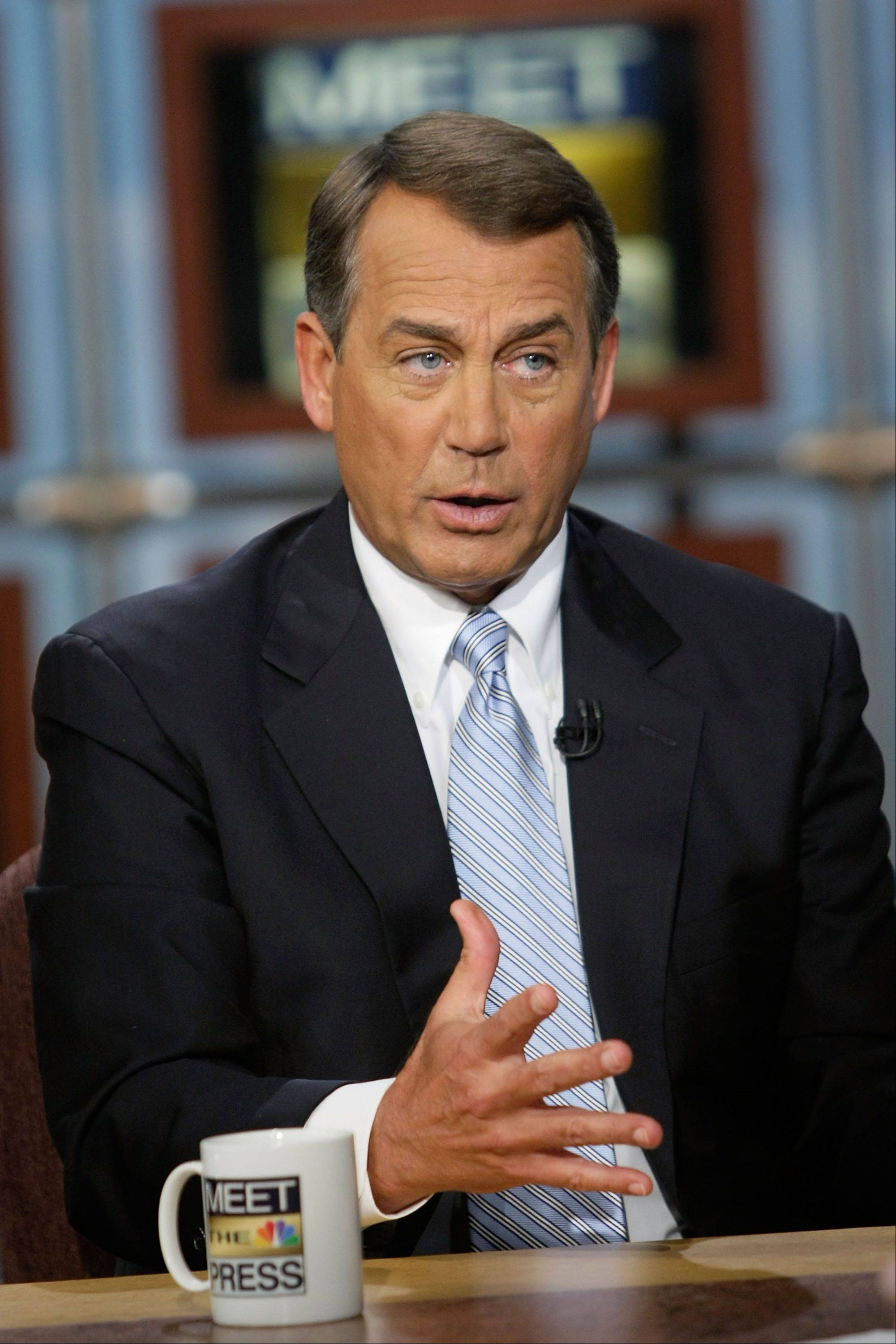 Boehner: Health ruling shows need to repeal law
