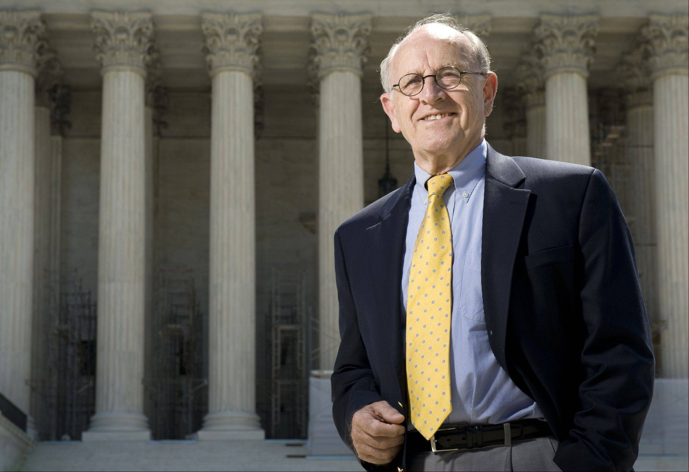 Lyle Denniston, 81, has gained attention live blogging for the SCOTUSBlog website that reports the release of Supreme Court opinions. On Thursday, Denniston expects to be the first to tell a quarter-million Americans, including the most devoted court-watchers, whether the health-care law still stands.