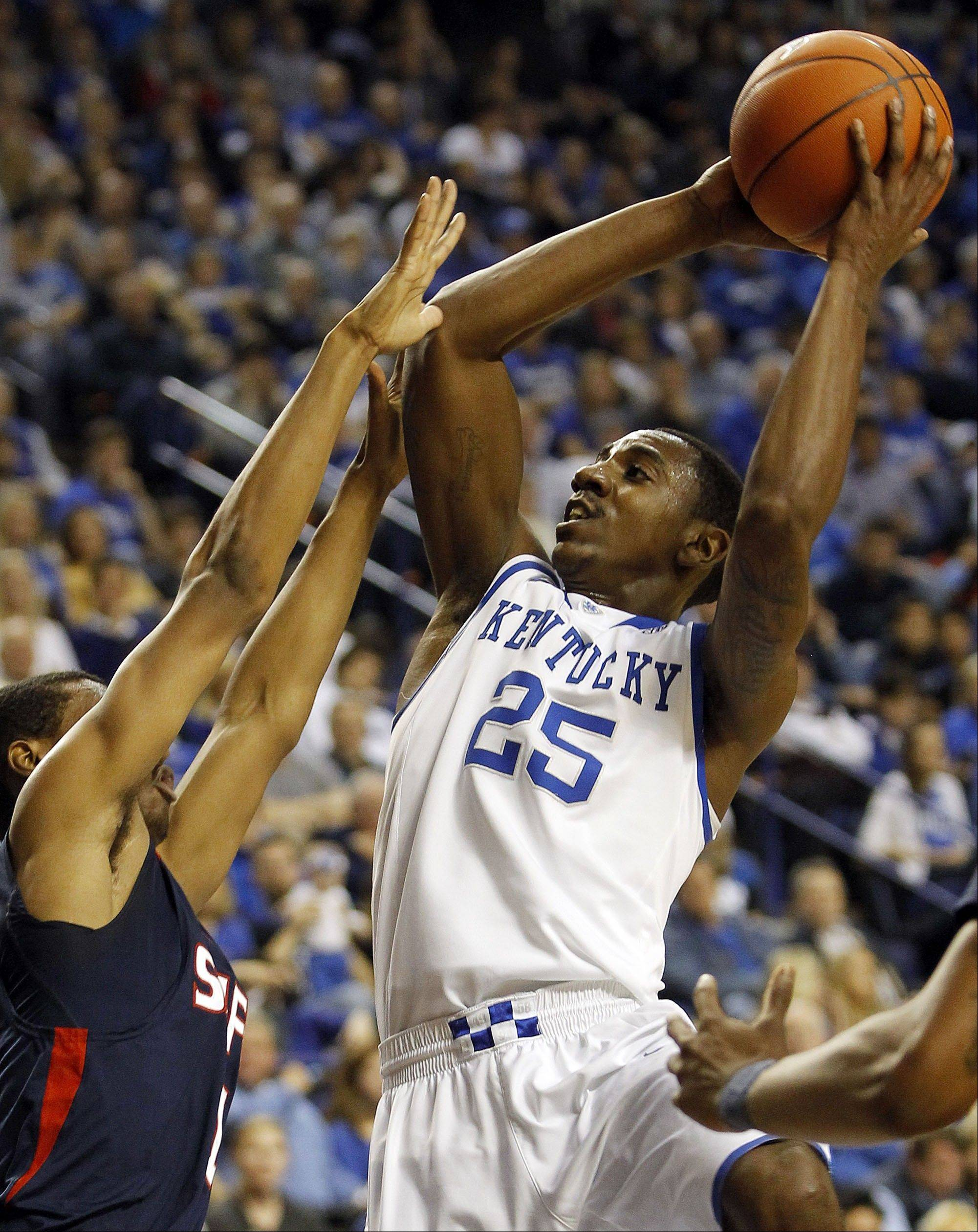Bull draft pick Marquis Teague helped lead Kentucky to the national championship this year as a freshman point guard.
