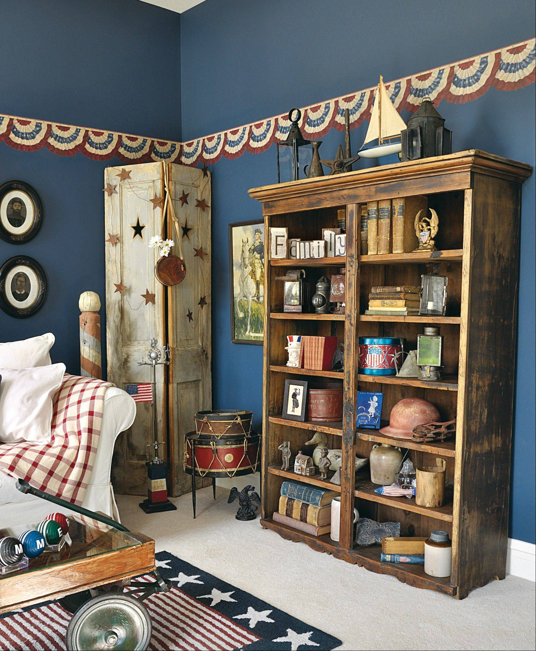 BOOKCASE IN POINT: Look for tips 16-18 to learn how to use bifold doors, a bookcase and accessories to change up your decor.