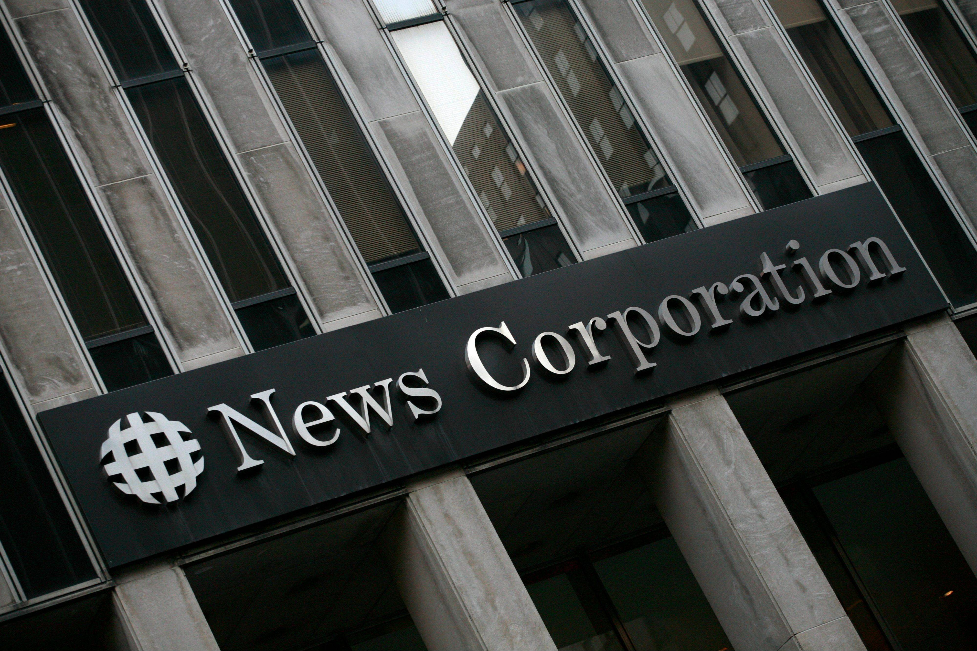 Associated Press/Feb. 1, 2010News Corp.'s headquarters in New York. Rupert Murdoch's News Corp. is considering splitting into two publicly traded companies.