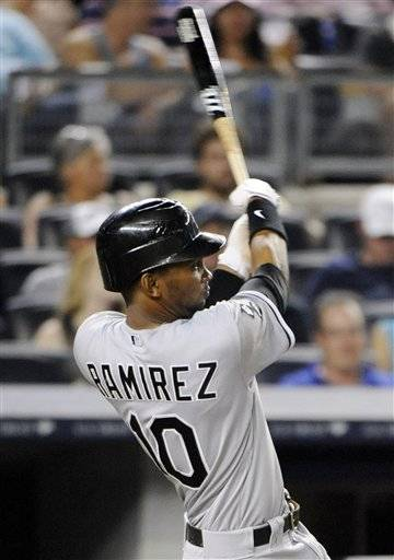 A.J. Pierzynski homered twice, Paul Konerko and Alexei Ramirez also connected and the White Sox pounded the Yankees so hard that New York brought in outfielder Dewayne Wise to pitch in a 14-7 romp Friday night.