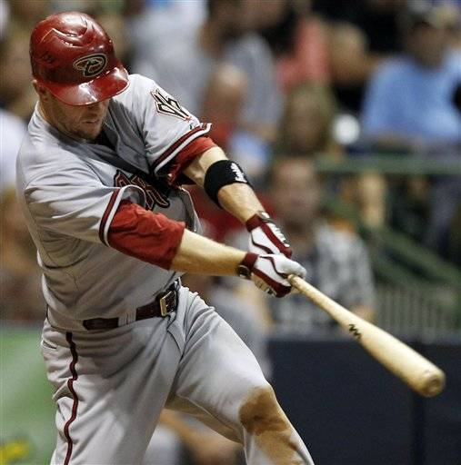 Aaron Hill has hit for his second cycle of the season Friday night against the Milwaukee Brewers, becoming the second major league player since 1900 to accomplish the feat twice in the same year.