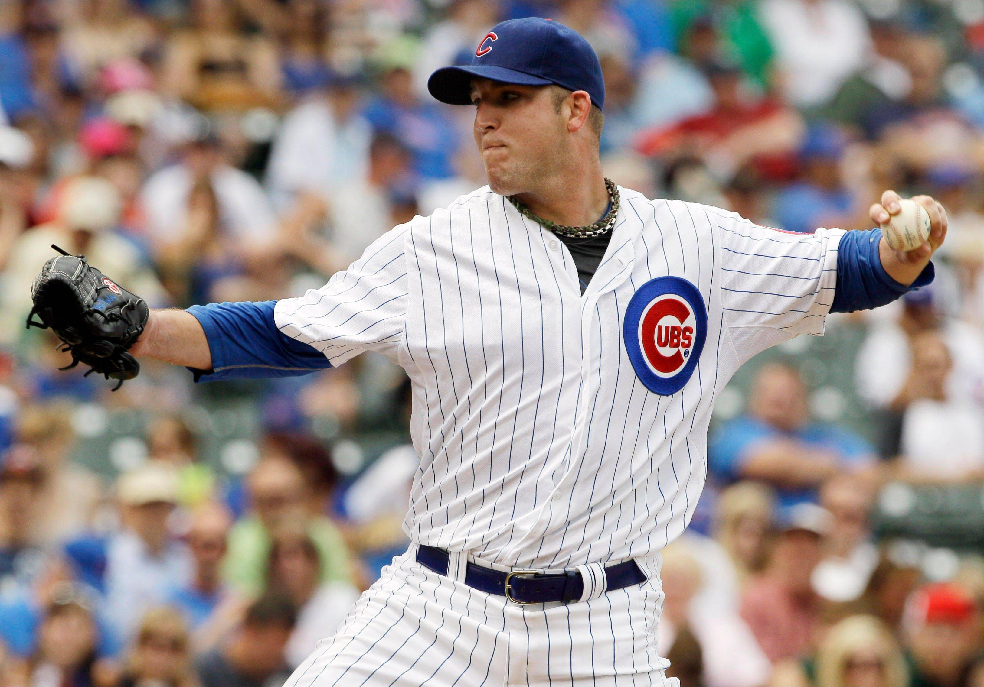 Cubs starter Paul Maholm led the way in shutting out Houston on Friday at Wrigley Field, working fast and efficiently for the win.