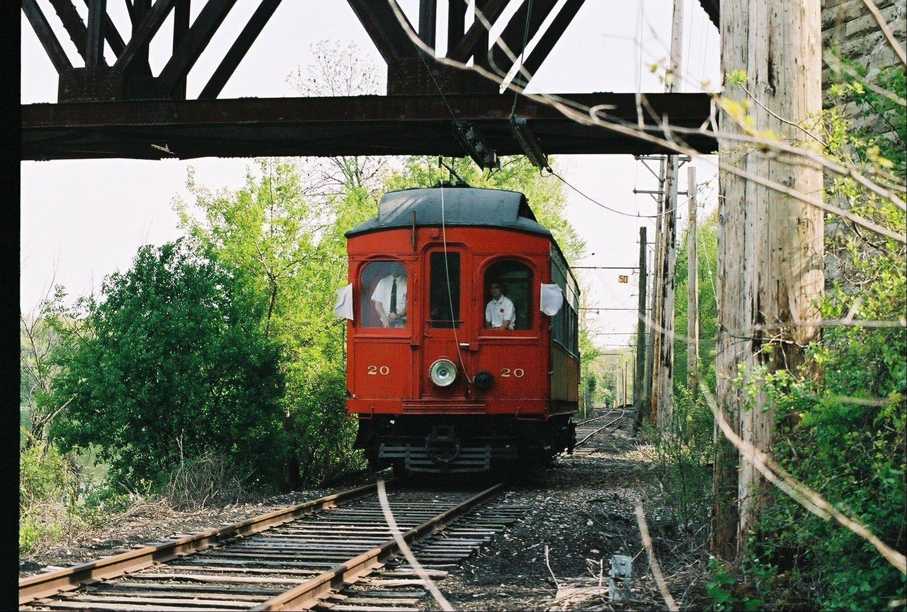 On Sunday, July 1, the Fox River Trolley Museum in South Elgin is throwing a birthday party for CA&E 20, the first car to operate at the museum in 1966. Ice cream and cake will be available to the first 150 riders.