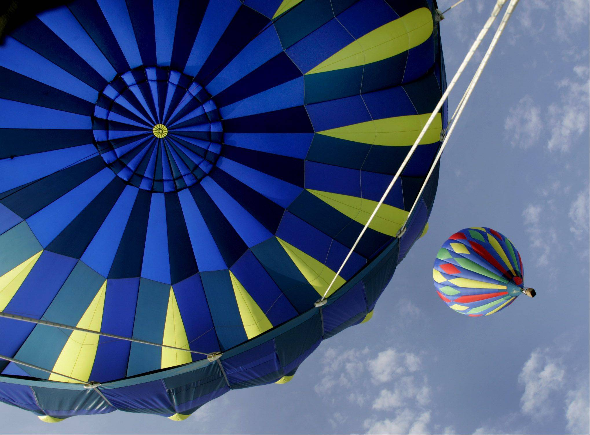 "Look to the skies for colorful hot air balloons at Lisle's annual ""Eyes to the Skies"" festival."