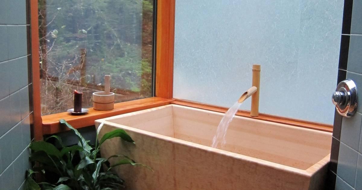 Soaking tubs making bathing a Zen experience