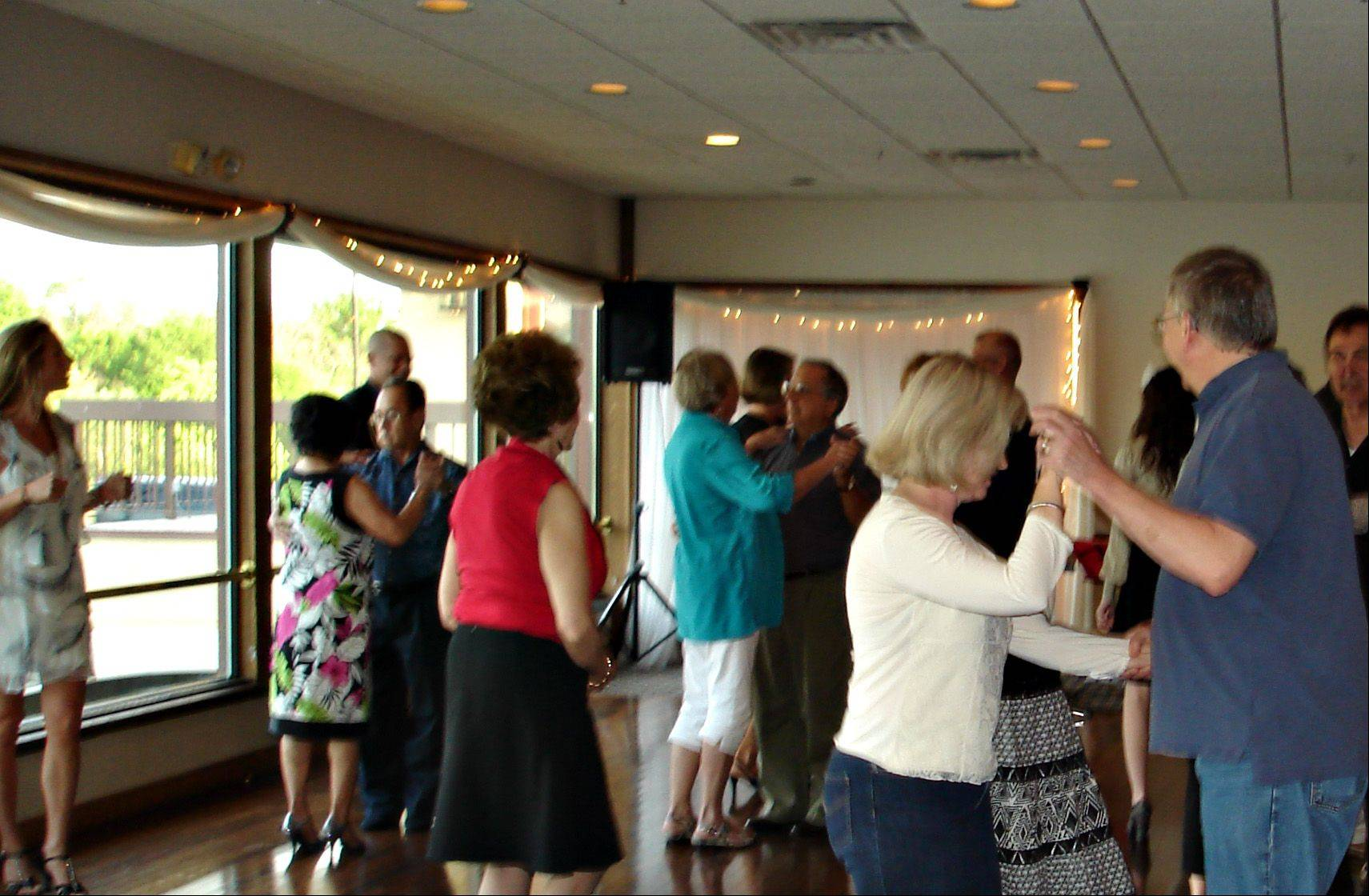 The Geneva Dance Club at Riverside Receptions lets people work on their dancing skills.