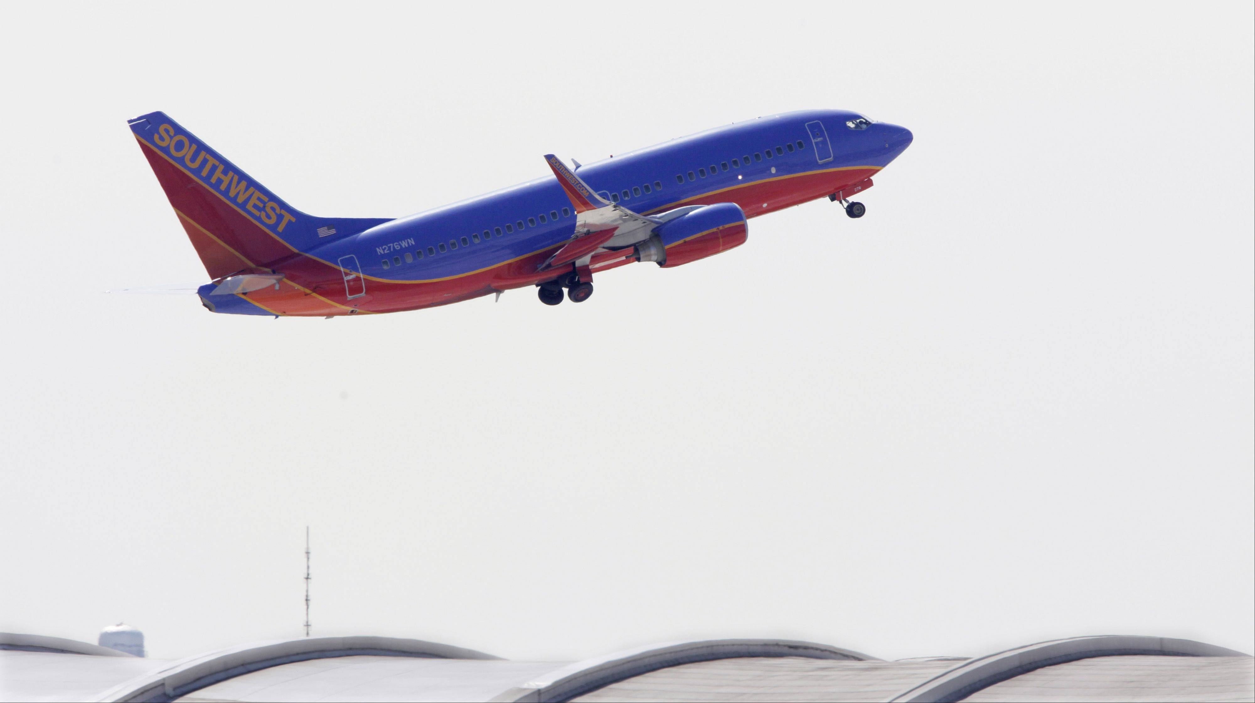 Southwest Airlines plans to sell live television service on five planes and expand it to more aircraft by mid-July. The airline said that it would offer seven sports and news channels for passengers to watch on their own devices. Southwest said it will test prices from $3 to $8 during a trial period. Passengers will need a Wi-Fi-enabled device such as a smartphone, tablet or laptop computer.