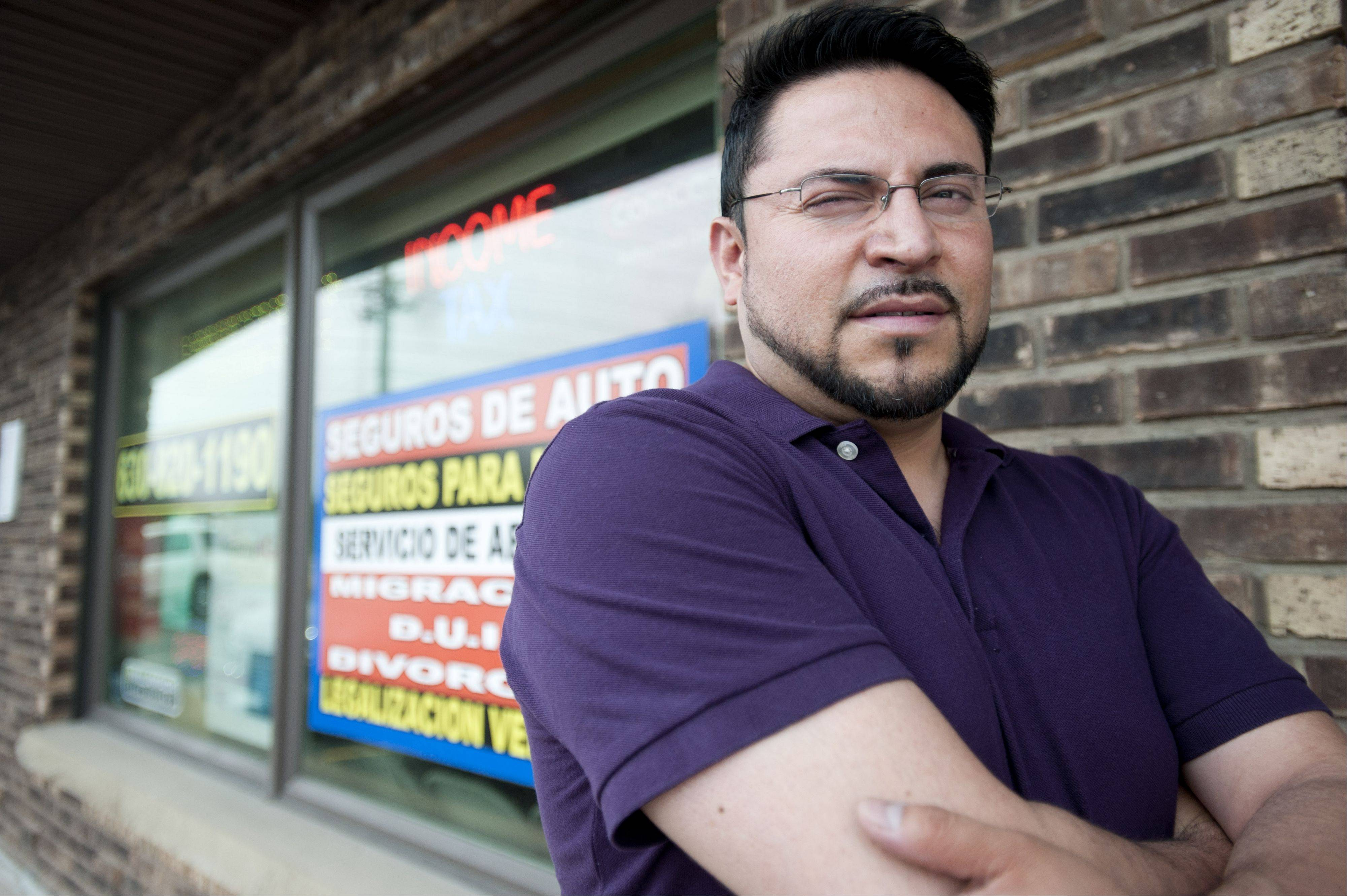 Alberto Ulage is an Aurora business owner who voted in the Mexican presidential election via absentee ballot. He believes Mexicans abroad must make an effort to vote.