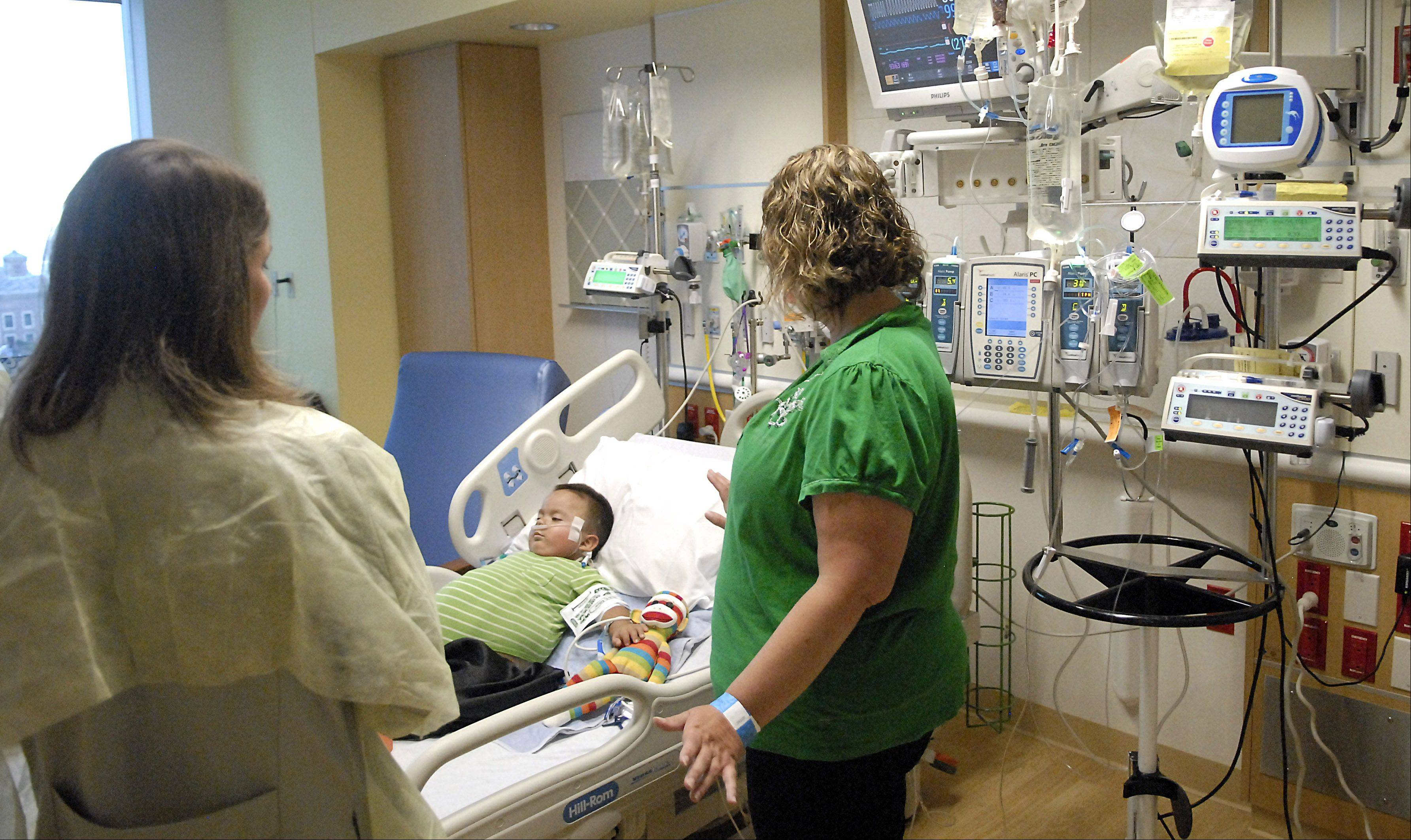 Doctor: Kidney in Carpentersville boy working 'perfectly,' he could go home this week