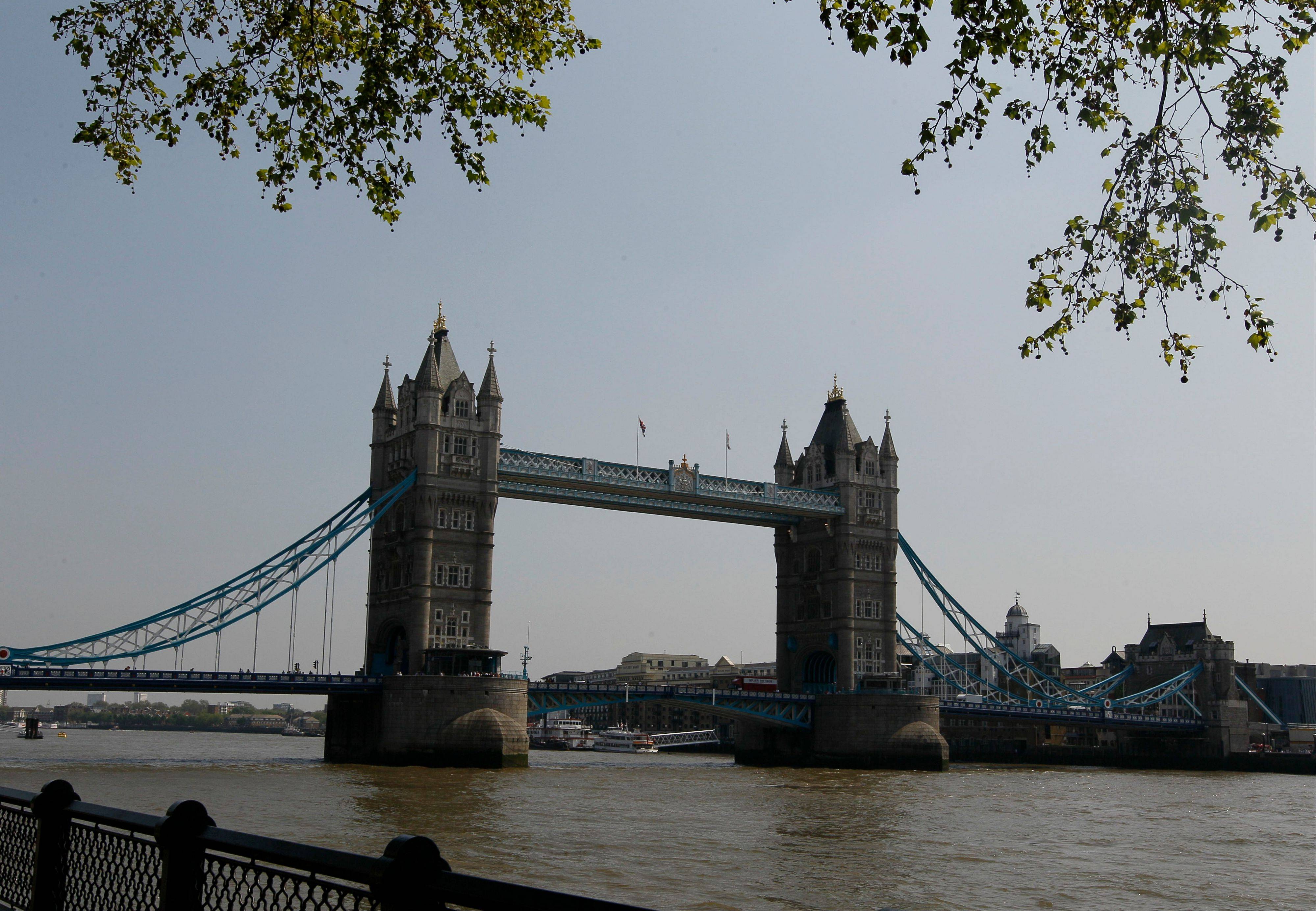London, with its popular attractions like Tower Bridge, is waiting for the Olympics in July.