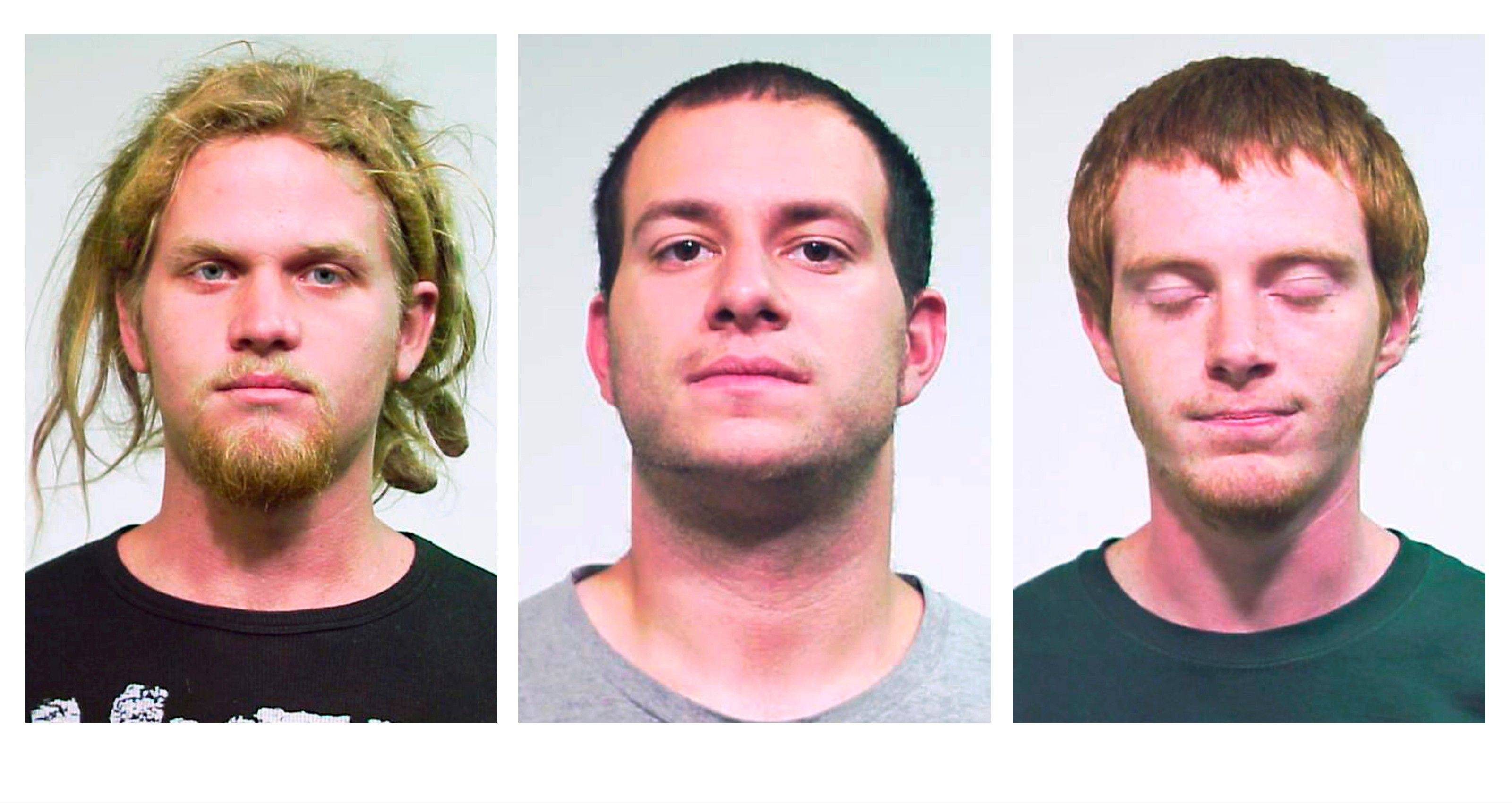 Brent Vincent Betterly, 24, of Oakland Park, Fla., Jared Chase, 24, of Keene, N.H., and Brian Church, 20, of Fort Lauderdale, Fla., are accused of plotting to attack President Barack Obama�s campaign headquarters in Chicago with Molotov cocktails during last month�s NATO summit.