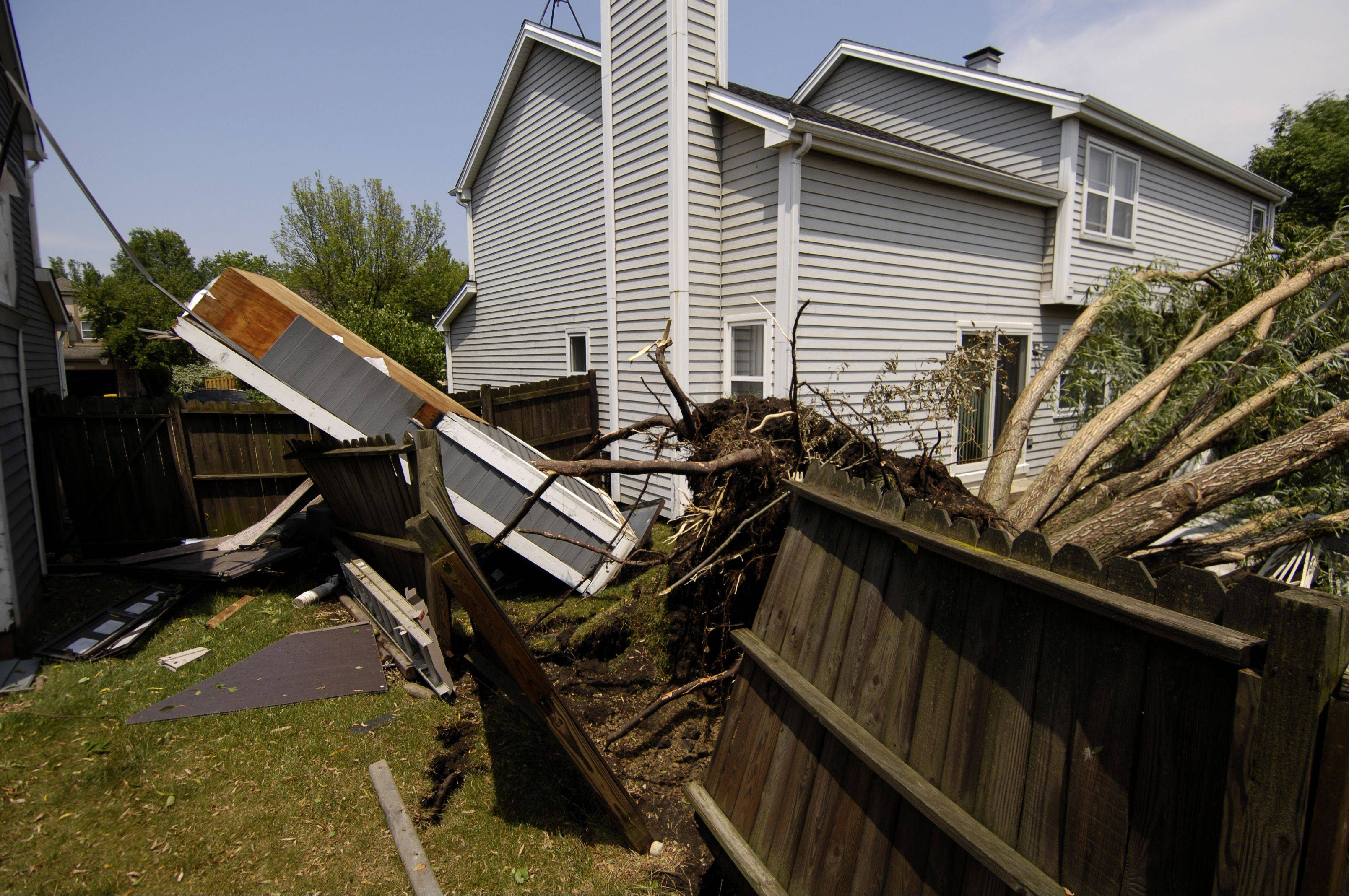 Images: Weekend storm damage