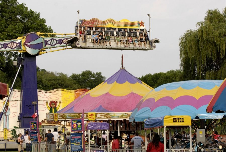 A carnival is part of the fun at the Taste of Lombard, which also offers music, family entertainment, 15 art and craft vendors and 23 food vendors.