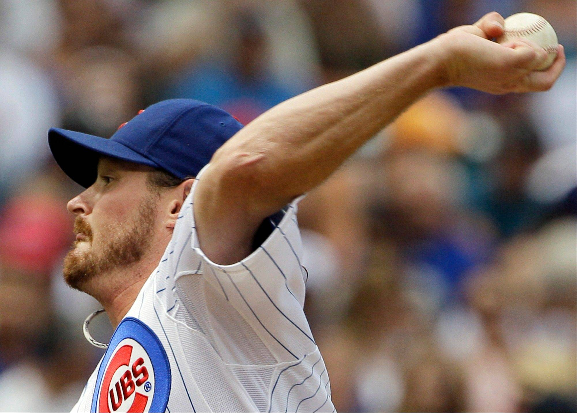 Cubs starter Travis Wood is on a run of 18 consecutive scoreless innings, the most by a Cubs left-handed starter since Ted Lilly in 2008. Wood shut out the Astros on Sunday.