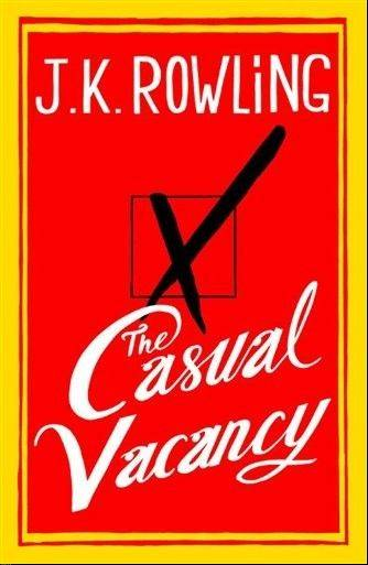�The Casual Vacancy� by J.K. Rowling will be released in September.