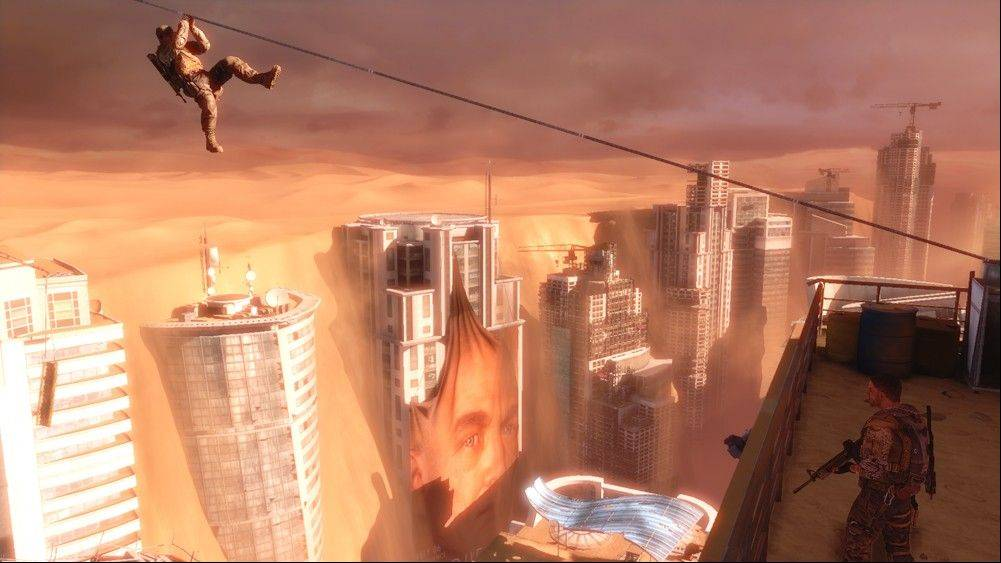 "American commandos explore a ruined Dubai in ""Spec Ops: The Line."""