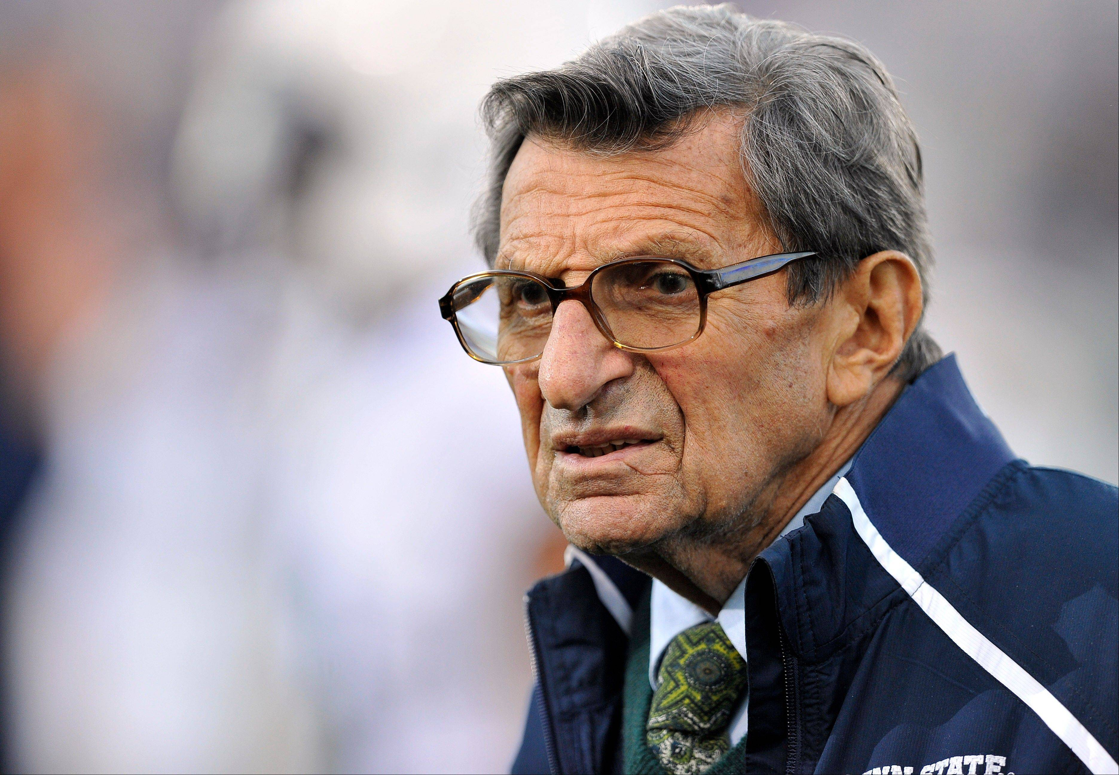 Email citing Paterno brings defense of late coach