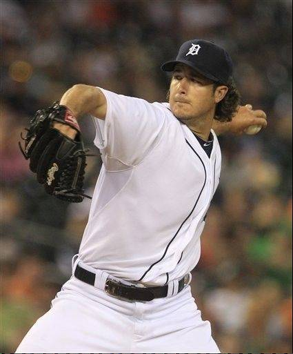 Tigers reliever Darin Downs pitches in the ninth inning against Minnesota on Tuesday in Detroit.