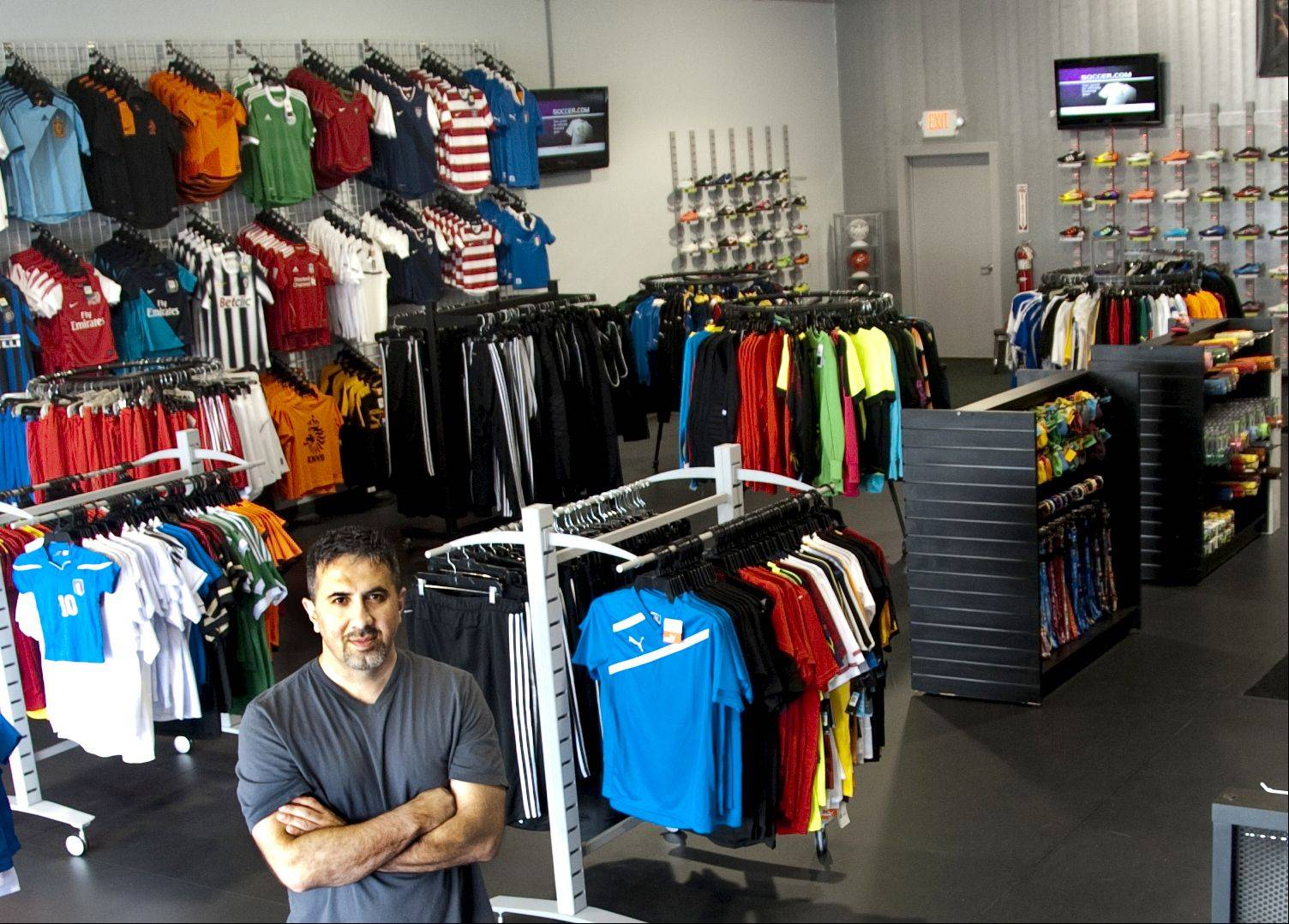 Orhan Senger is the owner of Soccer Heads at 1275 N Randall Road, Crystal Lake. He said his new location puts him in the middle of soccer players from several park districts.
