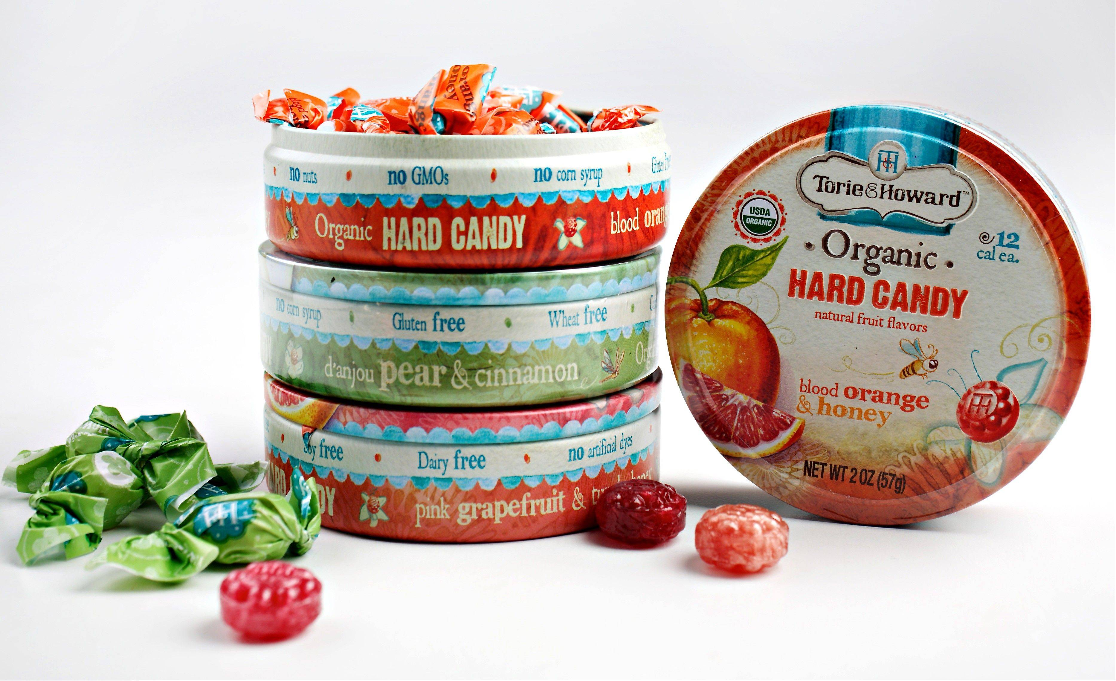 Satisfying a sweet tooth. It took almost two years to get Torie & Howard Organic Hard Candy ready to market.