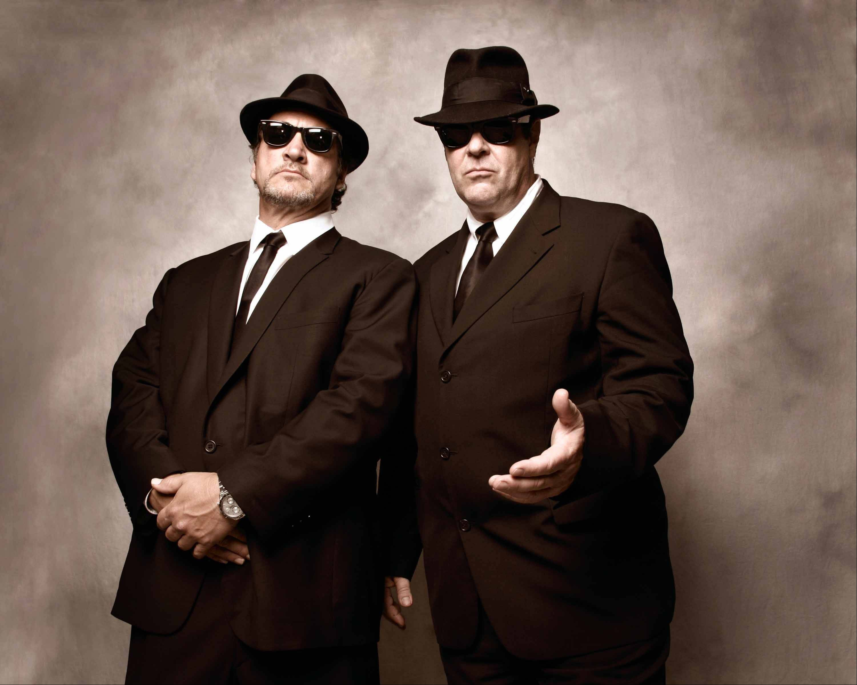 Jim Belushi and Dan Aykroyd appear as The Blues Brothers and perform with The Sacred Hearts at 8 p.m. Wednesday, July 11, the Ravinia Festival in Highland Park.