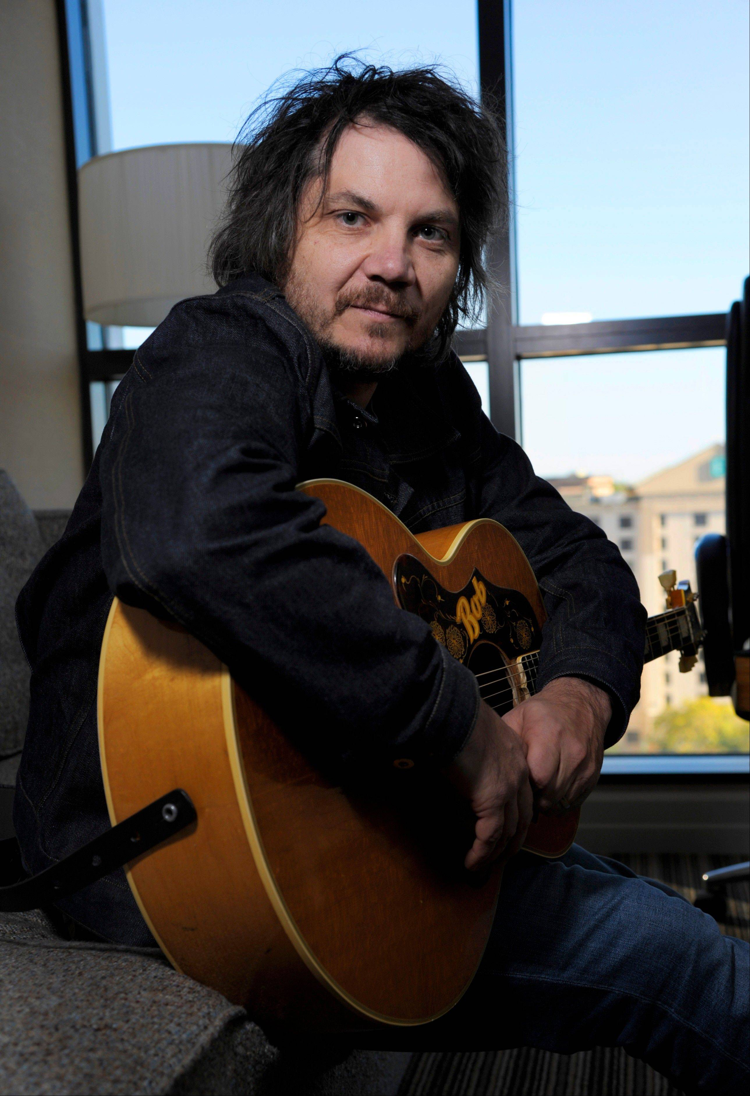 Jeff Tweedy and his band, Wilco, headline Fifth Third Bank Ballpark in Geneva on Sunday, July 8.