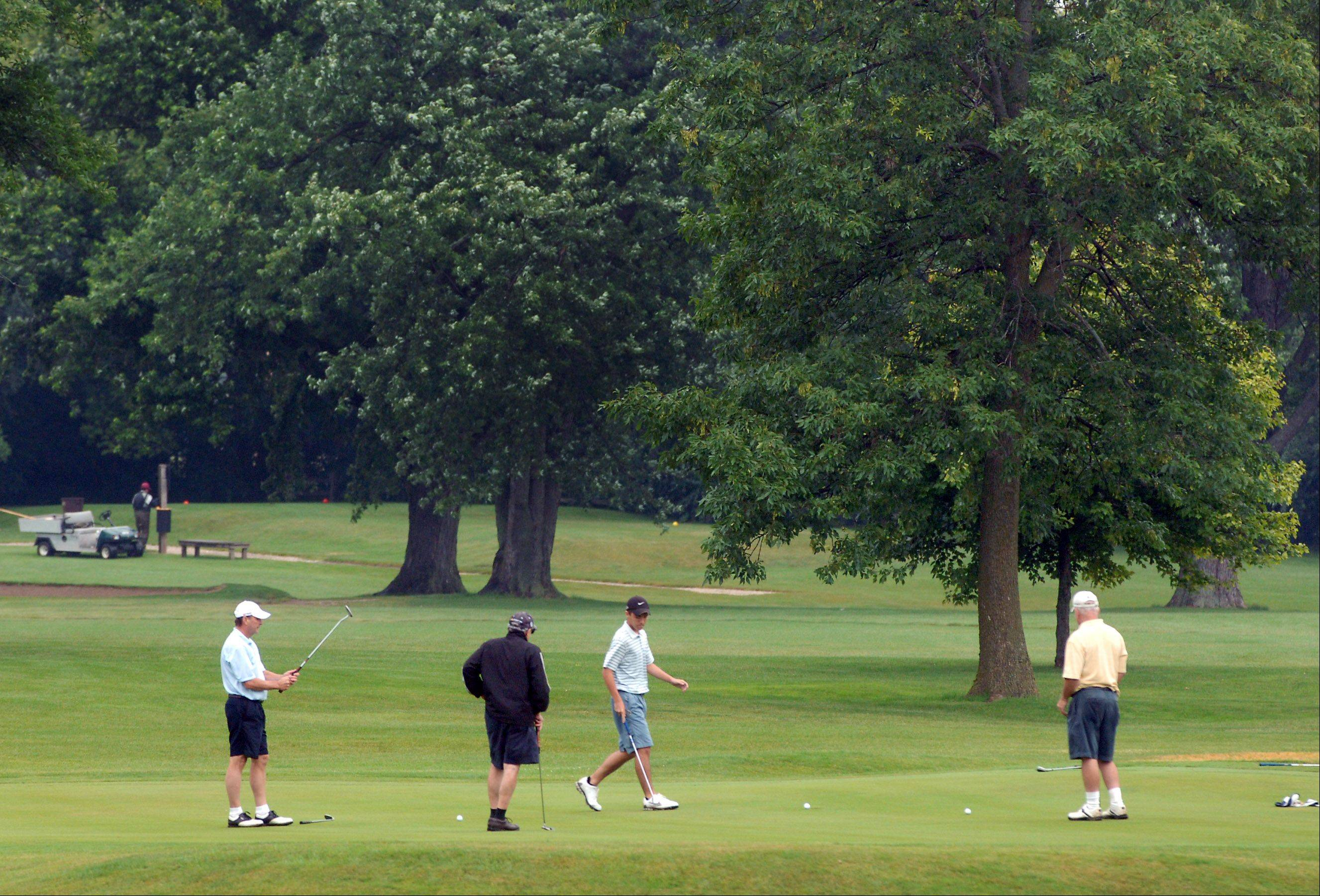 Golfers have been coming out in greater numbers to the Lake County Forest Preserve District courses, including the Brae Loch Golf Club in Grayslake.