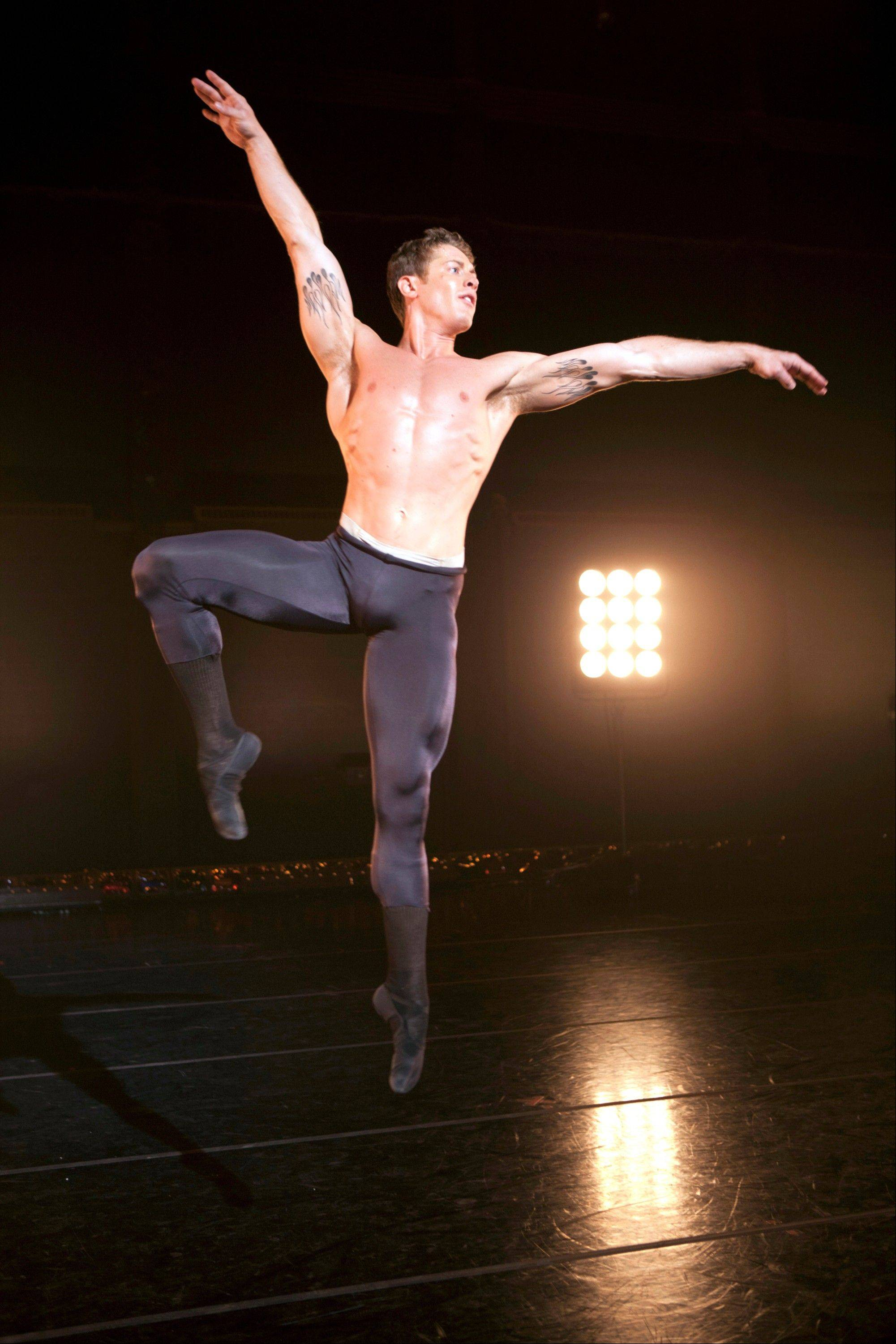 This undated image released by The CW shows Ronnie Underwood in the ballet reality series, �Breaking Pointe,� airing Thursdays at 7 p.m. on The CW.