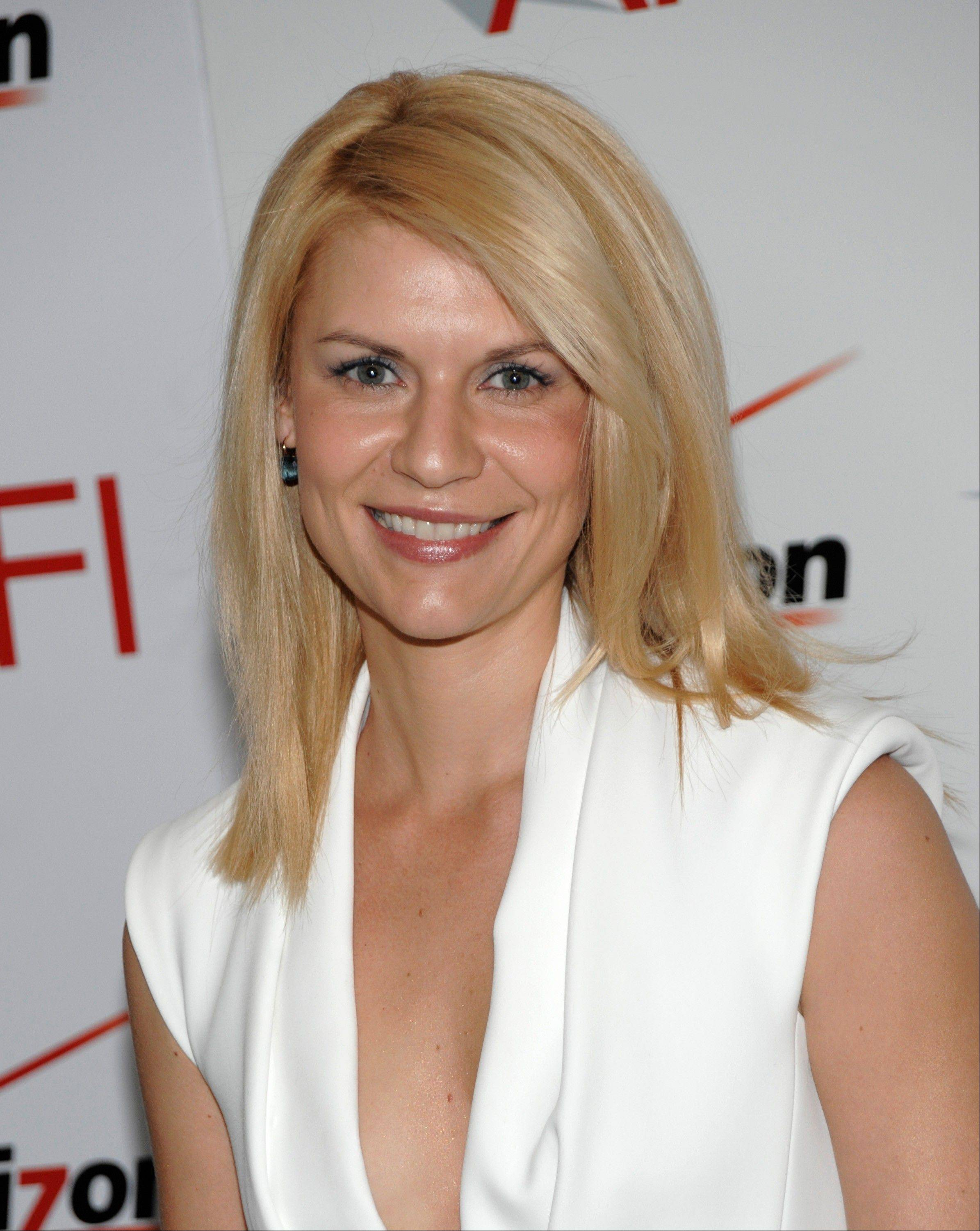 "Actress Claire Danes has some busy months ahead. Not only is her hit TV series ""Homeland"" returning for its second season in September, but she's also announcing she's pregnant."