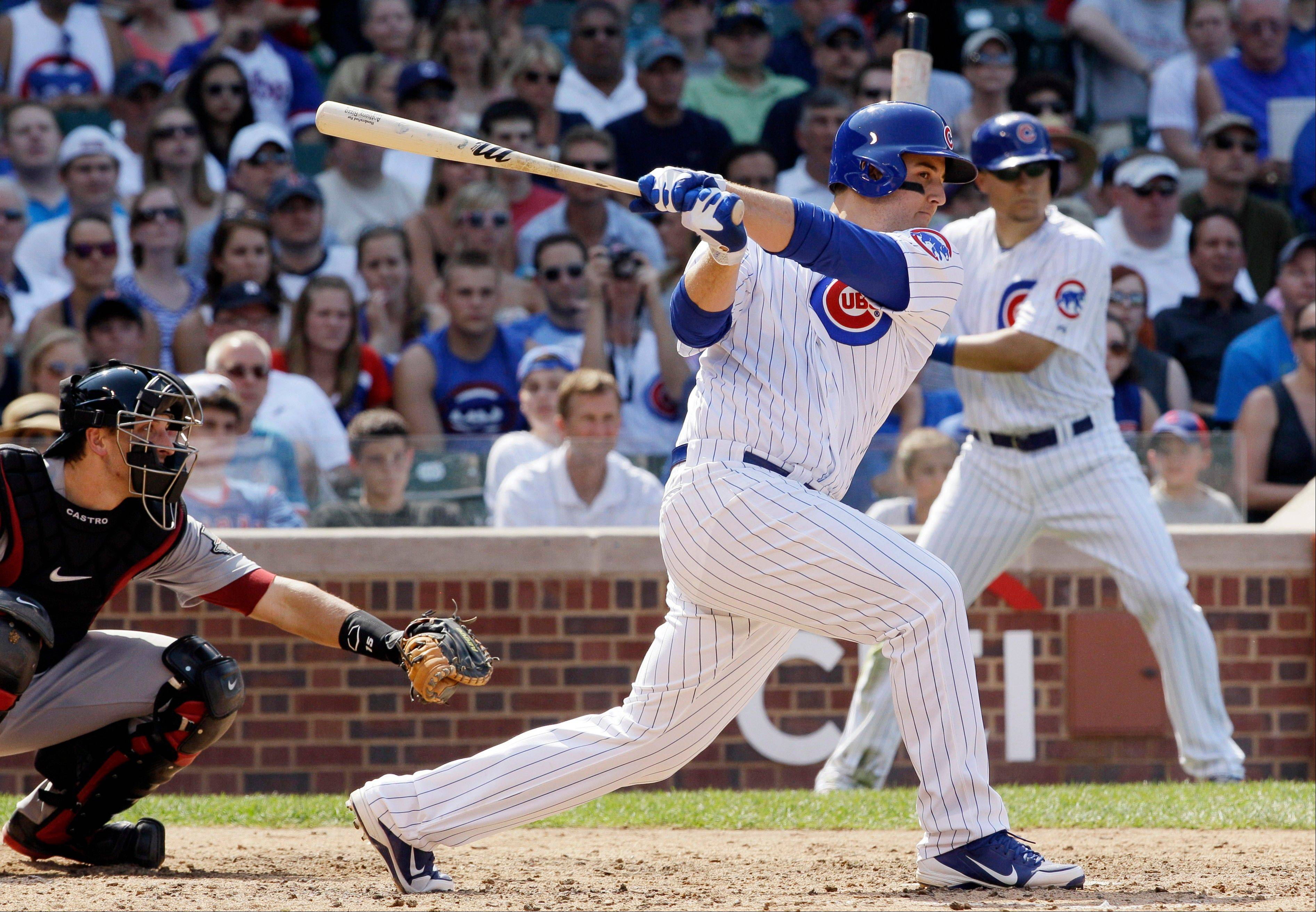 Anthony Rizzo is hitting .323 since being called up by the Cubs.