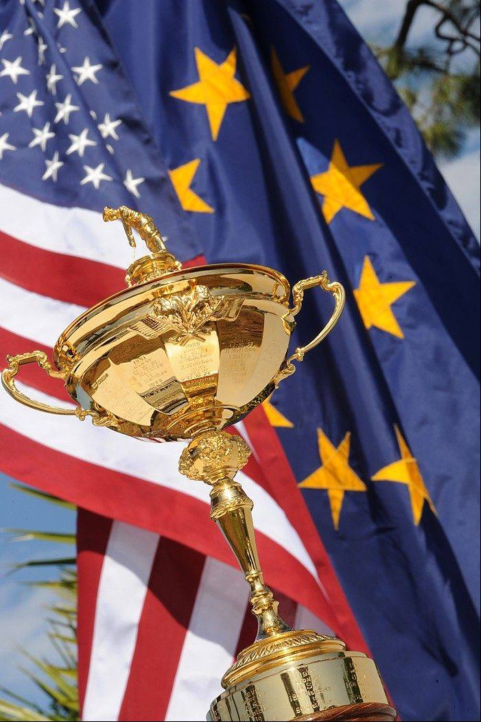 The 2012 Ryder Cup will take place Sept. 25-30 at Medinah Country Club.