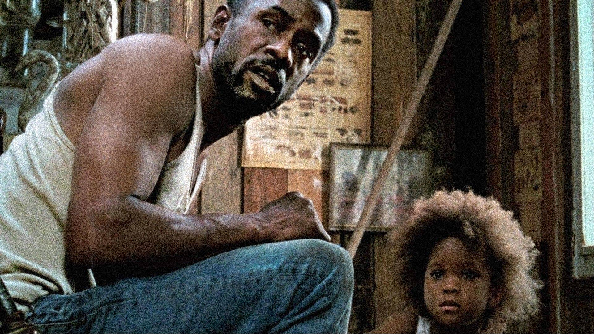 "Wink (Dwight Henry) and his young daughter Hushpuppy (Quvenzhane Wallis) eke out a meager existence in post-Katrina Louisiana in Benh Zeitlin's first feature ""Beasts of the Southern Wild."""
