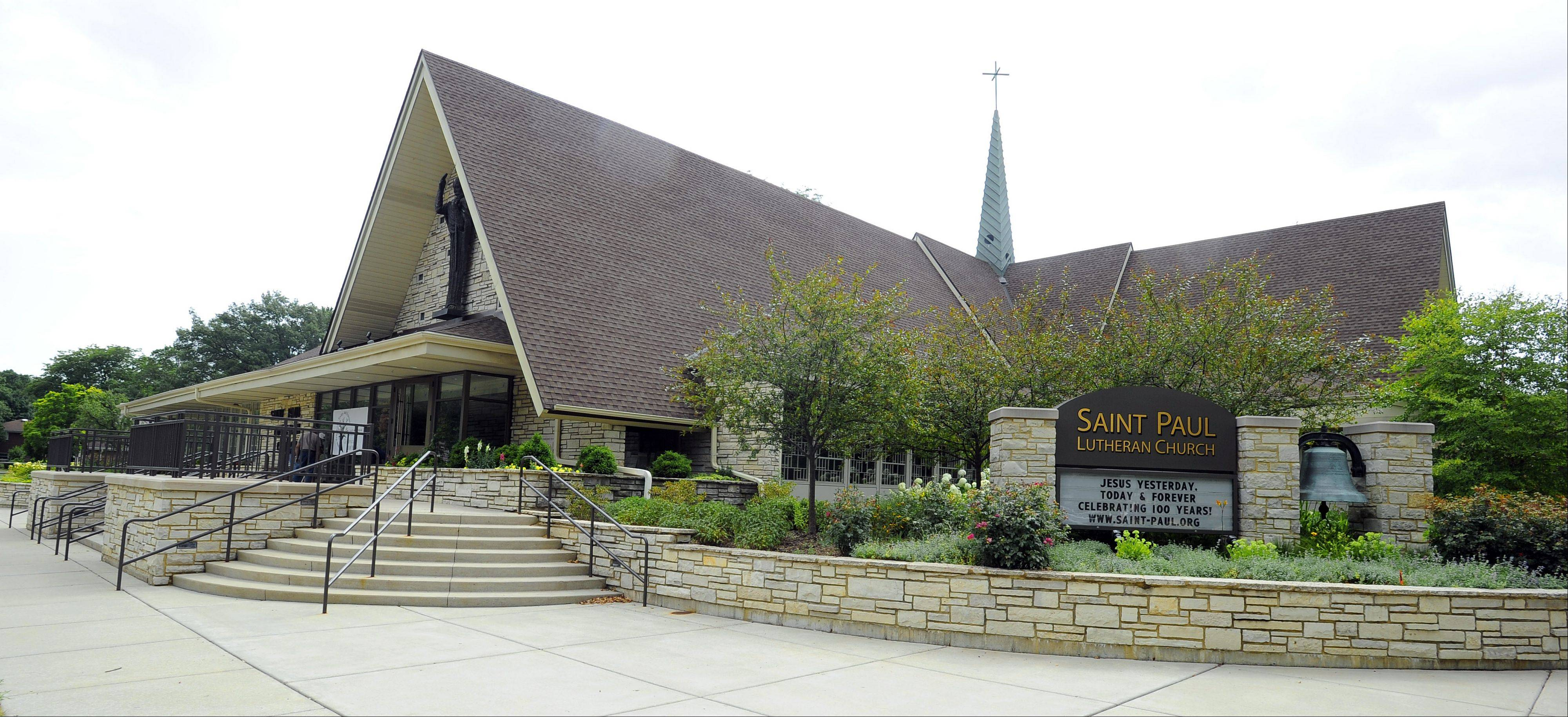 St. Paul Lutheran Church in Mount Prospect celebrates its 100th anniversary this weekend.