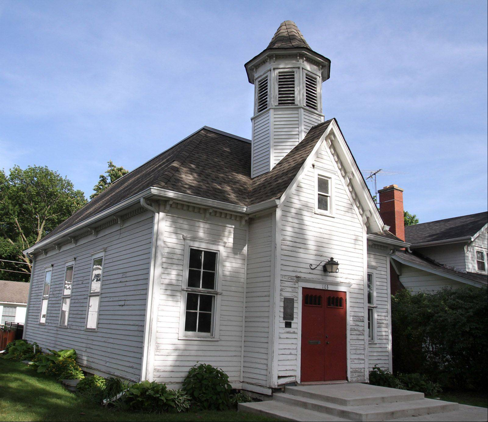 Congregants of St. Paul Lutheran Church met in Central School until their church was built. The building also served as the church school for a time.