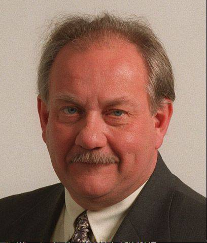 Kane County Coroner Chuck West died Wednesday.