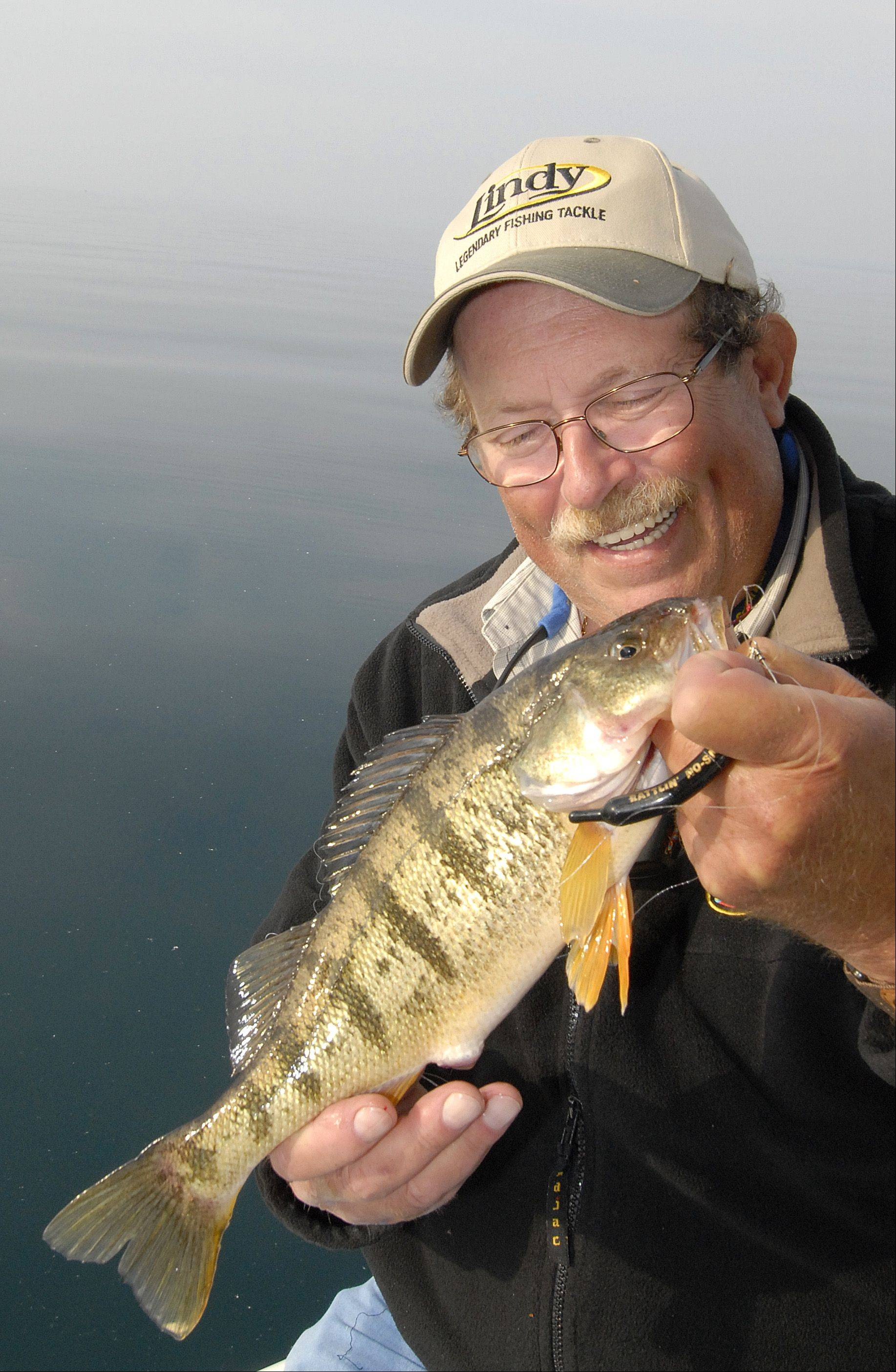 Mike Jackson longs for the days when Lake Michigan didn't have any limits on when local anglers could go after perch. He misses those days when adults weren't banned from fishing for perch in July. And he's calling for the state to end that ban.