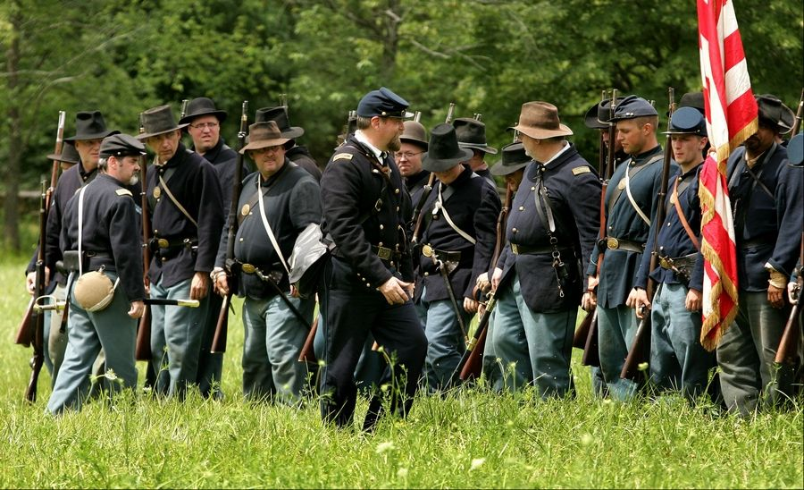 Civil War Days comes to Lakewood Forest Preserve