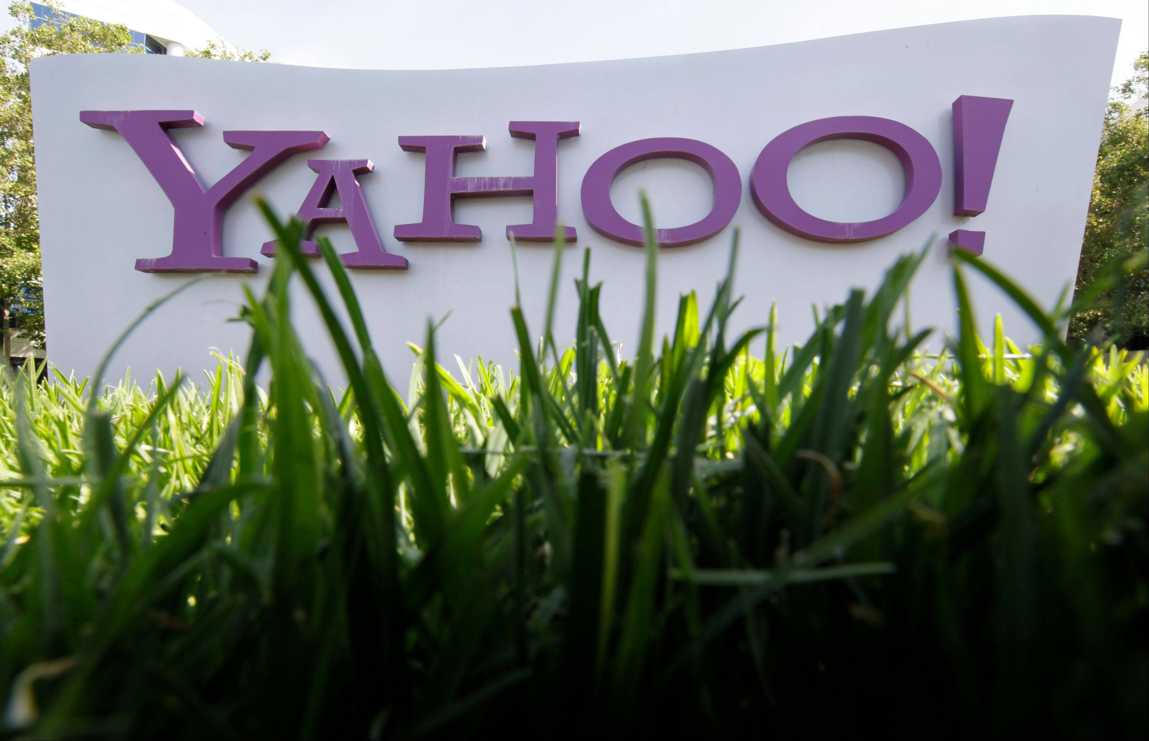 Associated Press/ay 20, 2012 A Yahoo sign stands outside the company's offices in Santa Clara, Calif.