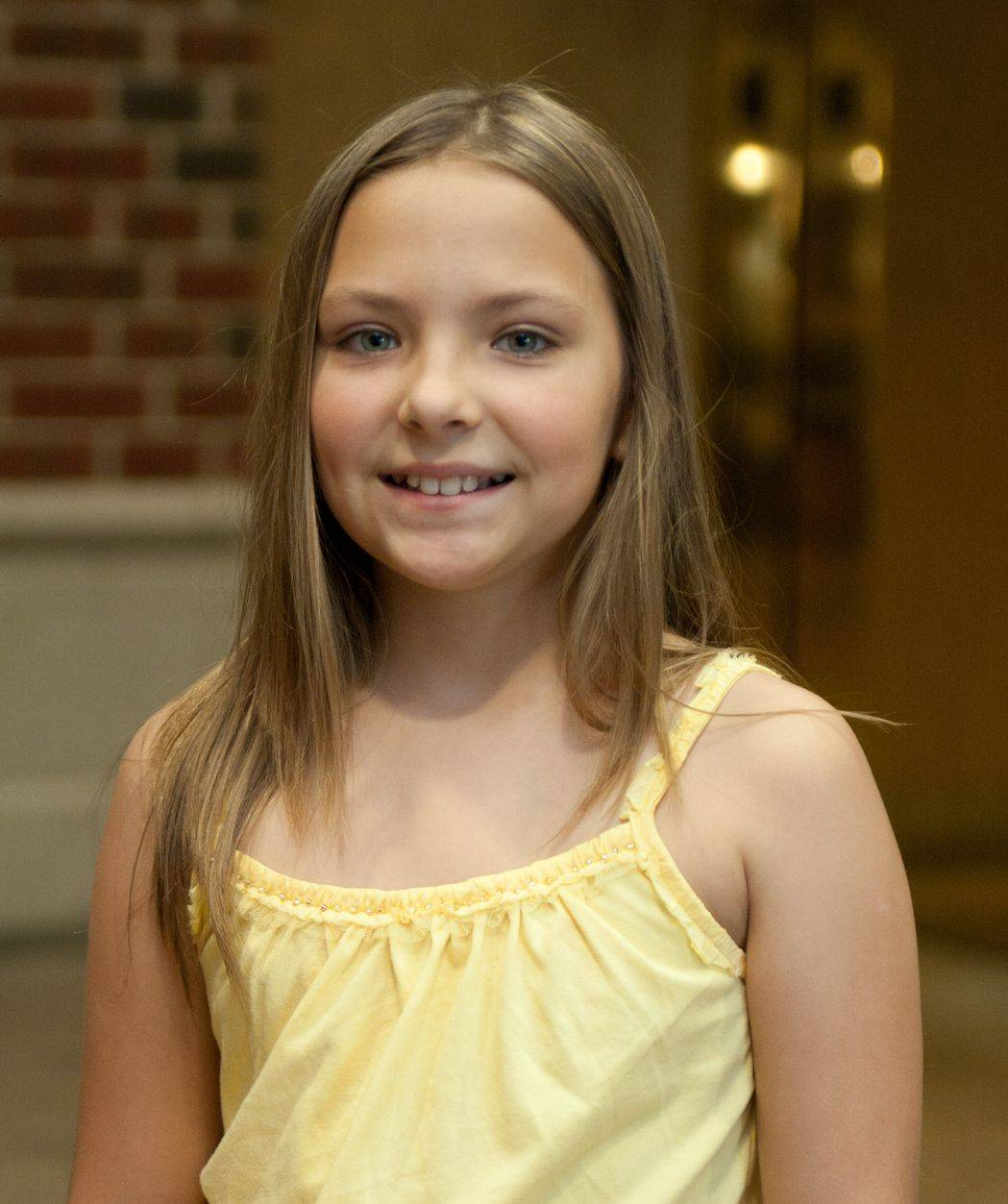 Suburban Chicago's Got Talent top 20 finalist Agne Giedraityte (Agne G), 10, of Downers Grove.