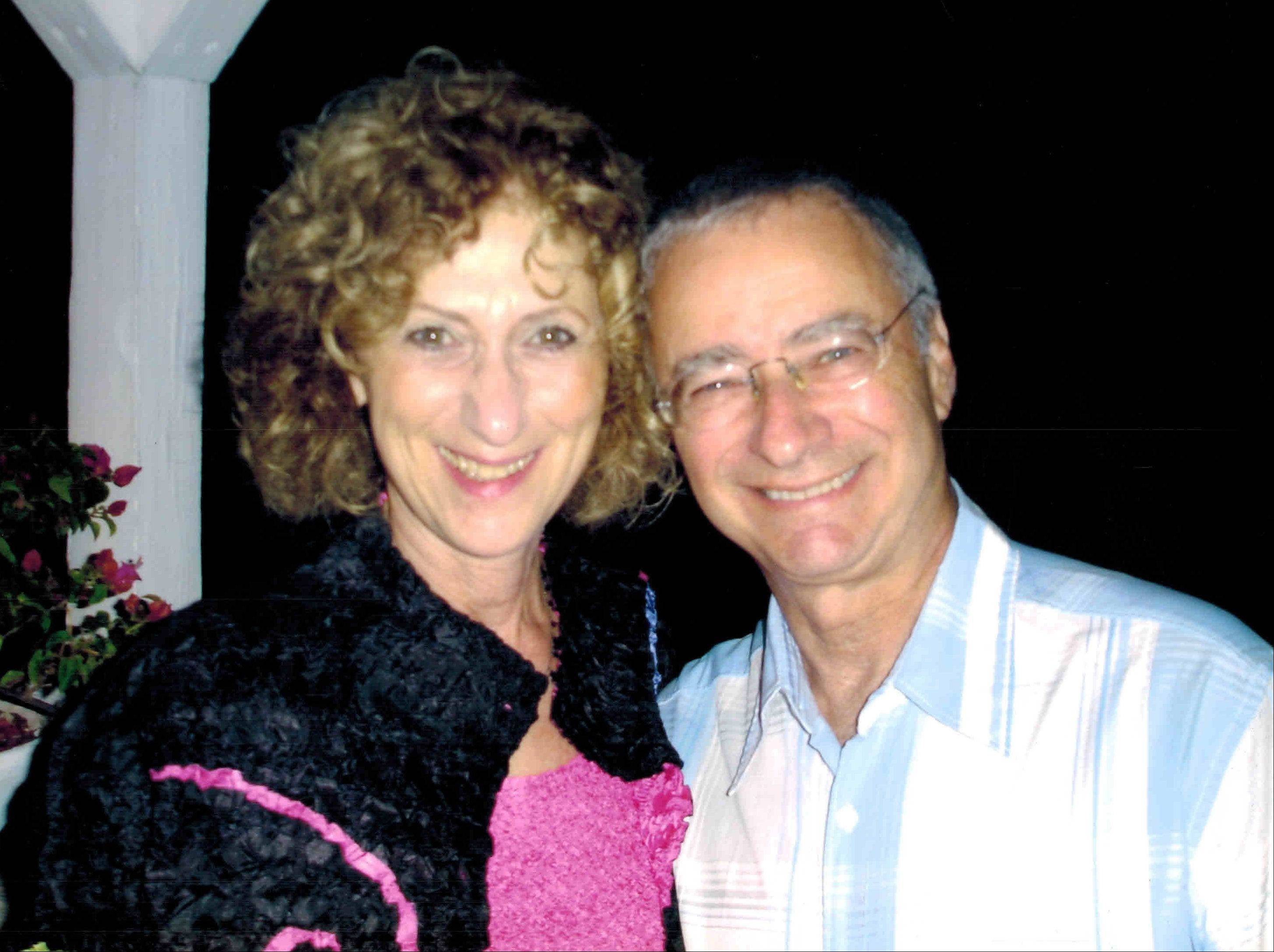 Burton Lindner, 69, and Zorine Lindner, 70, of Glenview were killed about a block from their home in a train derailment on July 4.