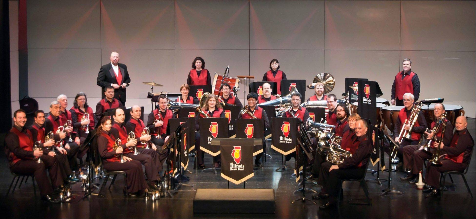 "Photo information: ""The Illinois Brass Band will perform a free concert in Hoffman Estates on Thursday, July 12. Courtesy Illinois Brass Band."""